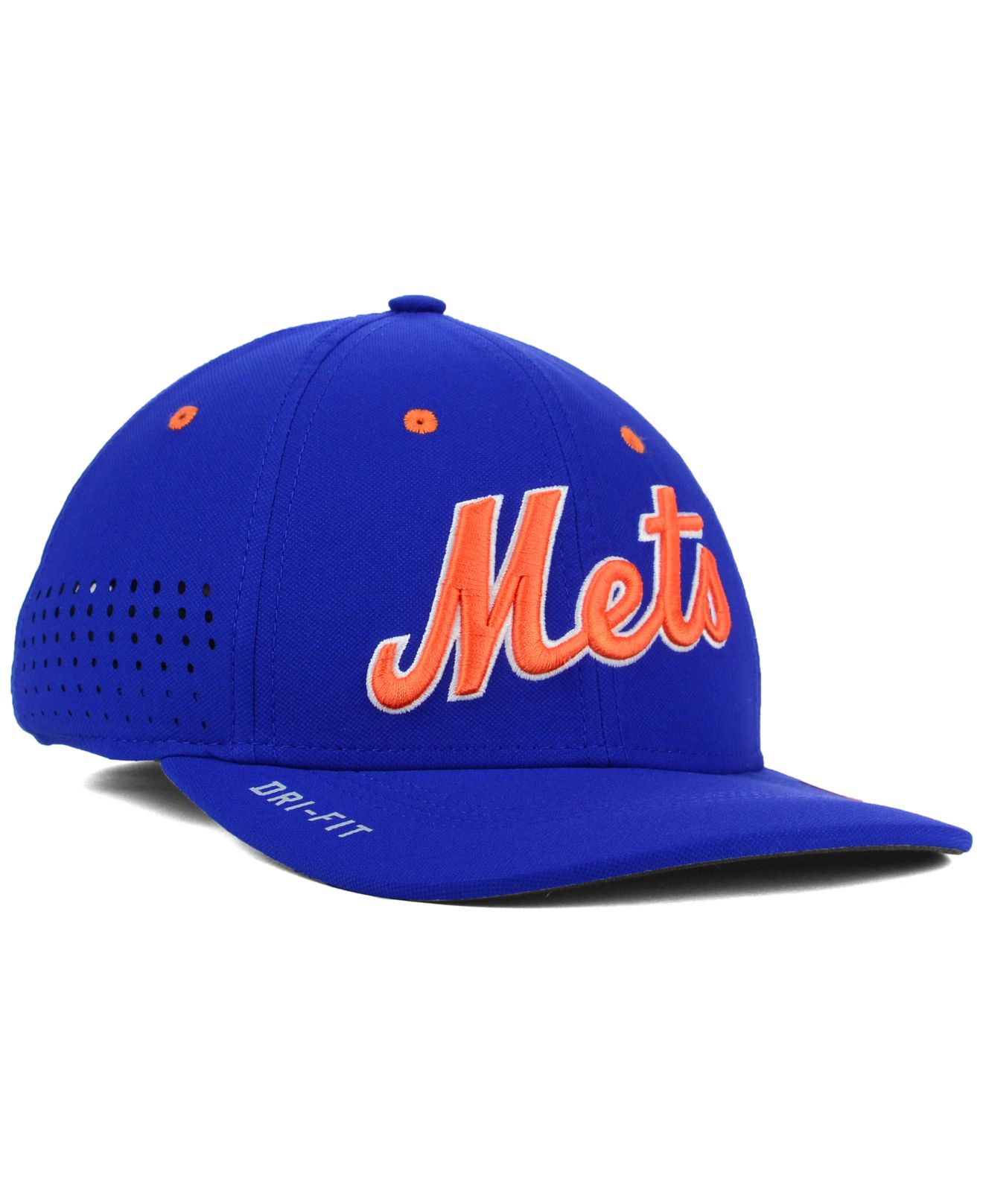 66e2f92b ... clearance lyst nike new york mets vapor swoosh flex cap in blue for men  07565 f918a