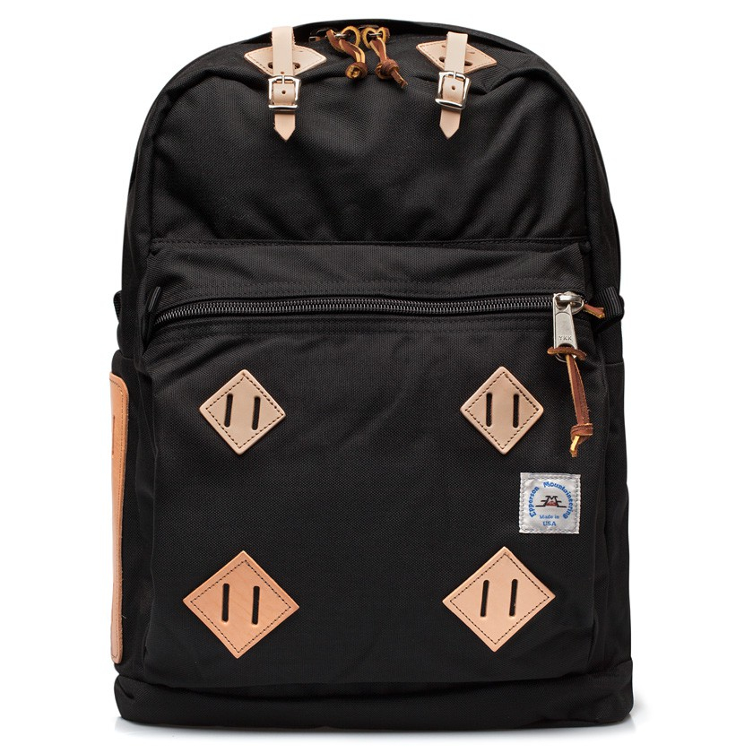Epperson mountaineering Black Leather Patch Daypack Backpack in ...