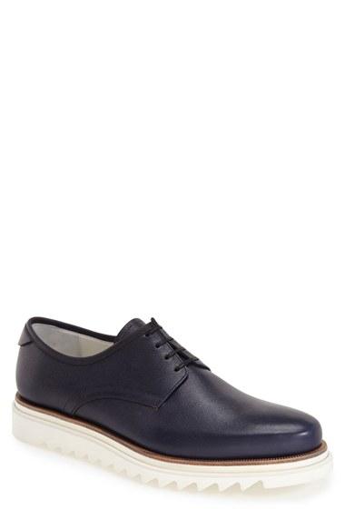 Ben Sherman Italian Pebble Leather Shoes