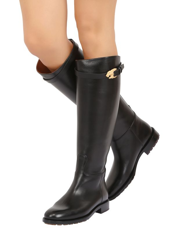 Valentino Leather Boots 8uk8k