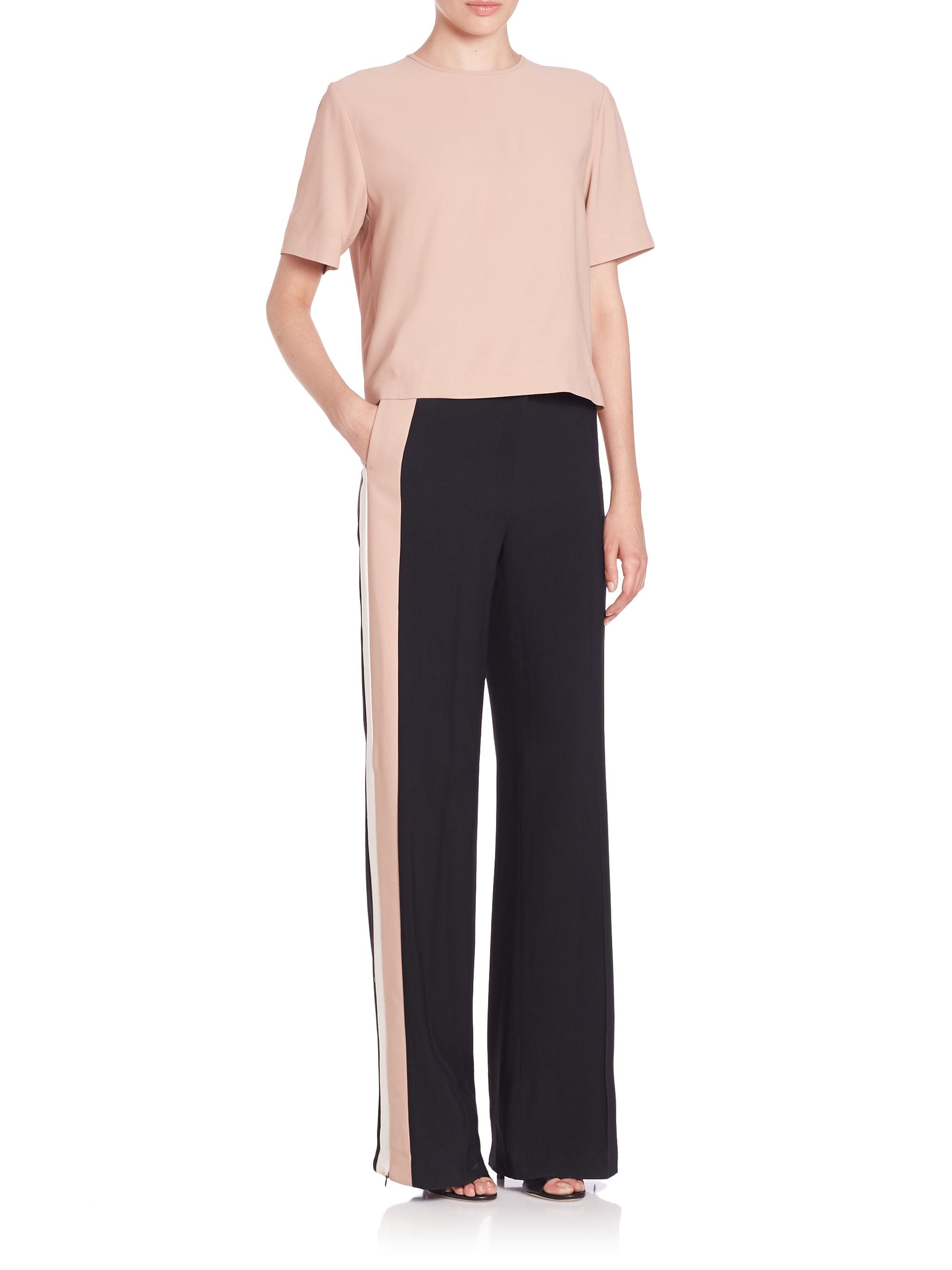 wide-leg trousers - Black Msgm Buy Cheap Hot Sale umB3MyztKZ