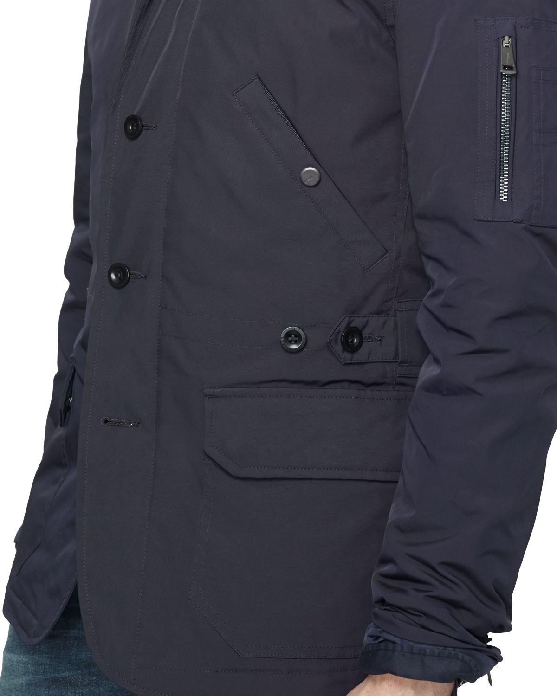 Ralph lauren Black Label Military Sport Coat in Blue for Men | Lyst