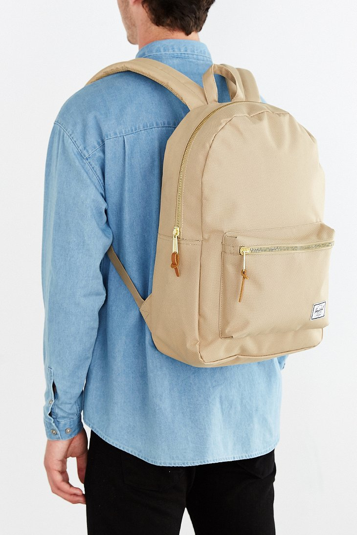 58853970a852 Lyst - Herschel Supply Co. Settlement Backpack in Natural for Men