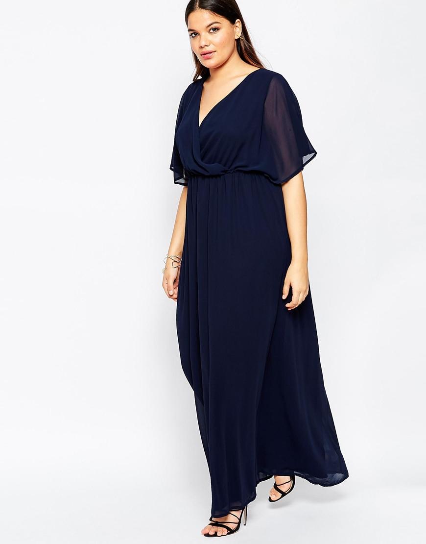 Plus Size Maxi Dress for Club