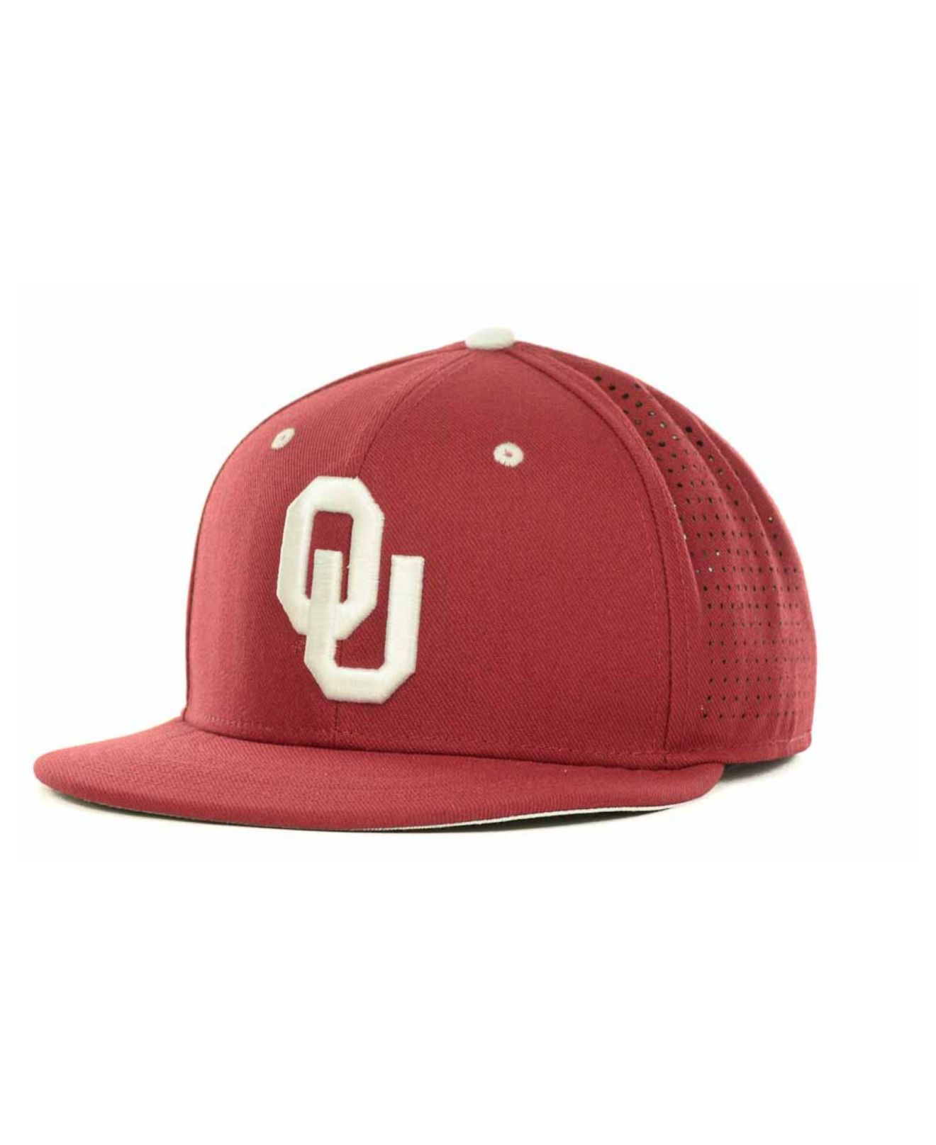 huge selection of c0197 49acc Nike Oklahoma Sooners Ncaa Authentic Vapor Fitted Cap in Red for Men ...