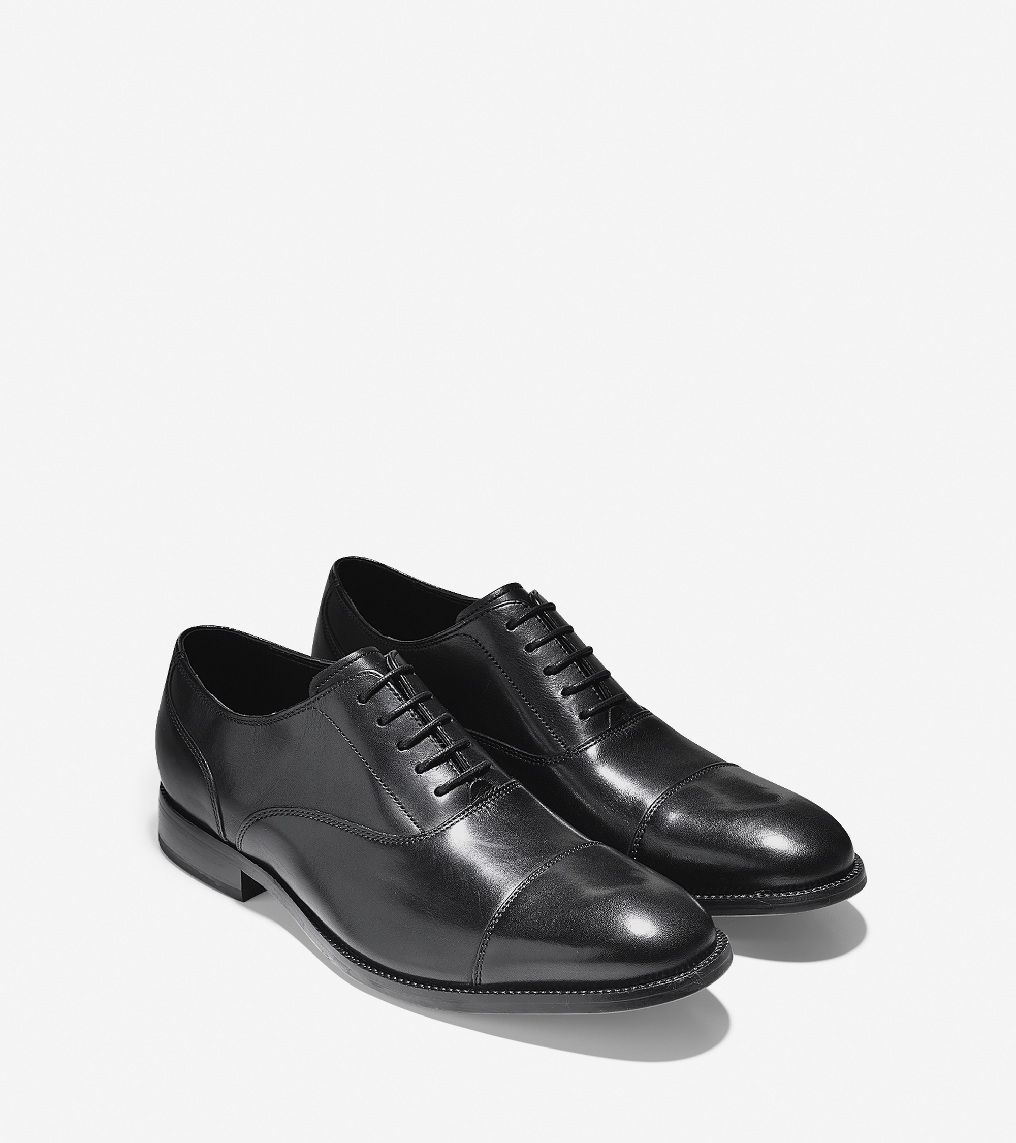Cole Haan Williams Cap Toe Oxford In Black For Men Lyst