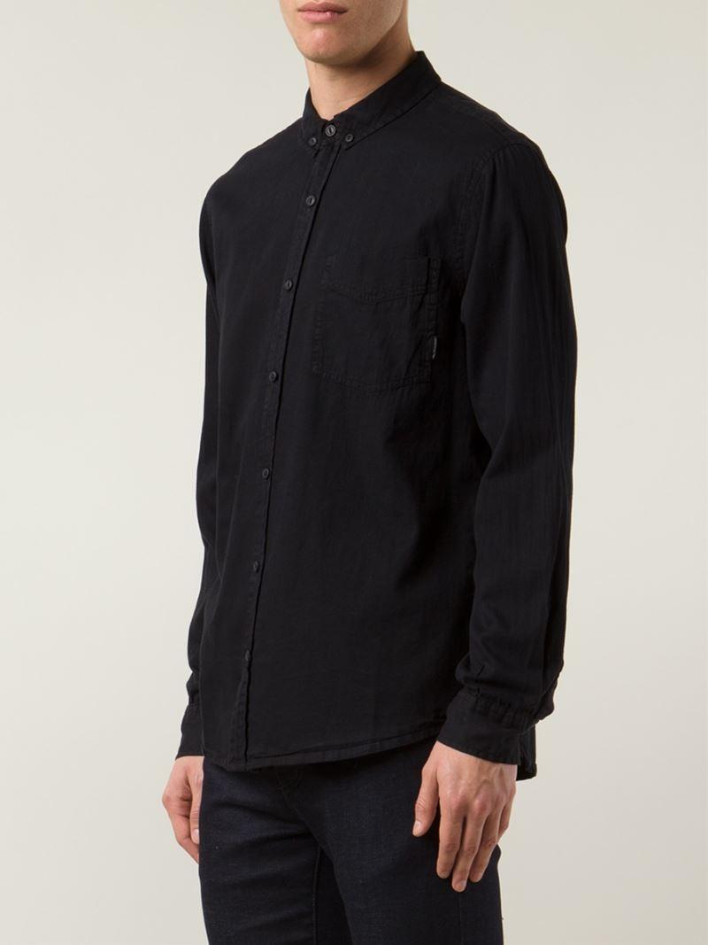 Lyst Neuw Button Down Shirt In Black For Men