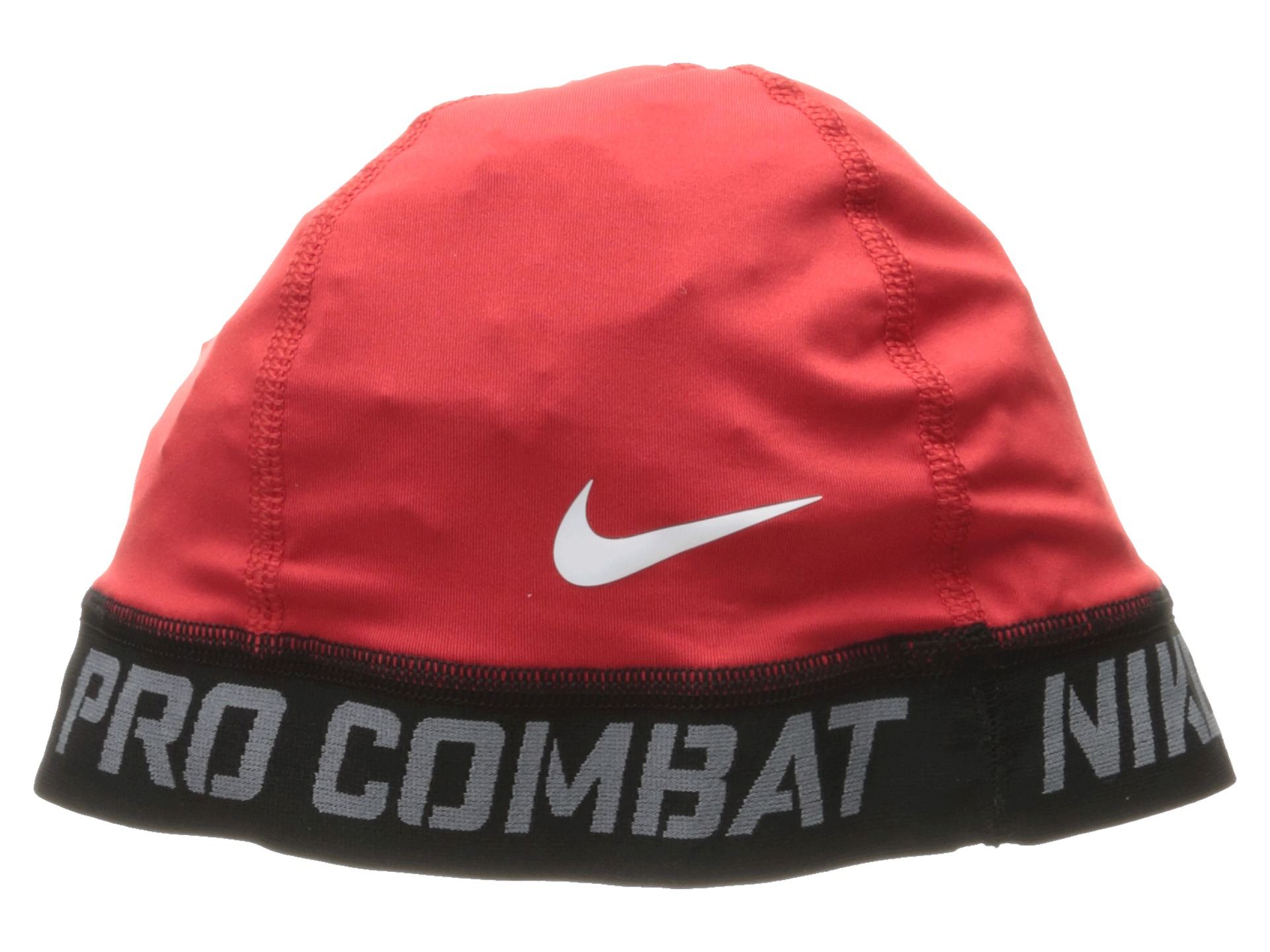 61cc97e011e34 Nike Pro Combat Banded Skull Cap 2.0 in Red - Lyst