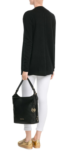 8808cf171b586c ... shopping lyst michael michael kors bedford large leather shoulder bag  c95d4 9615a