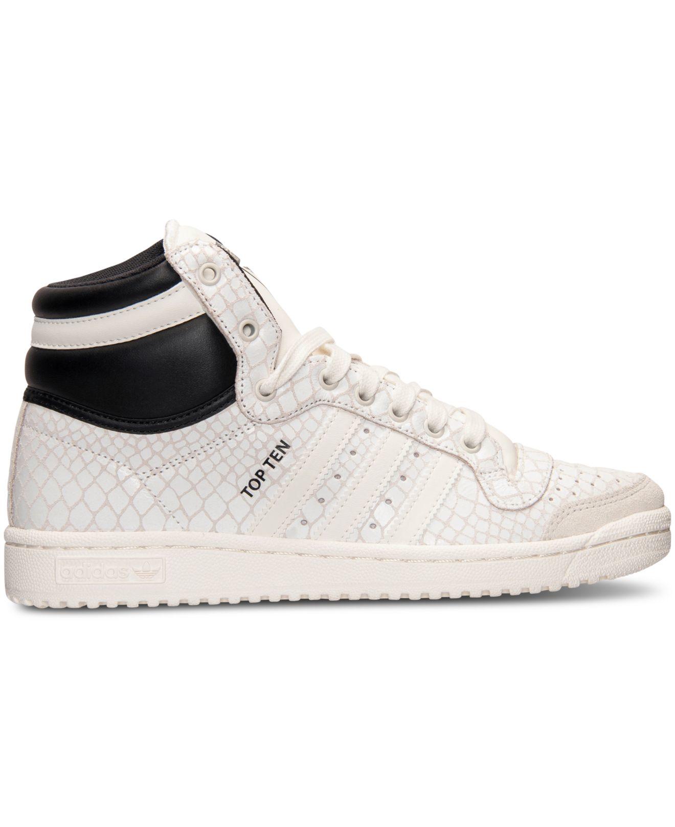 adidas originals s top ten hi casual sneakers from