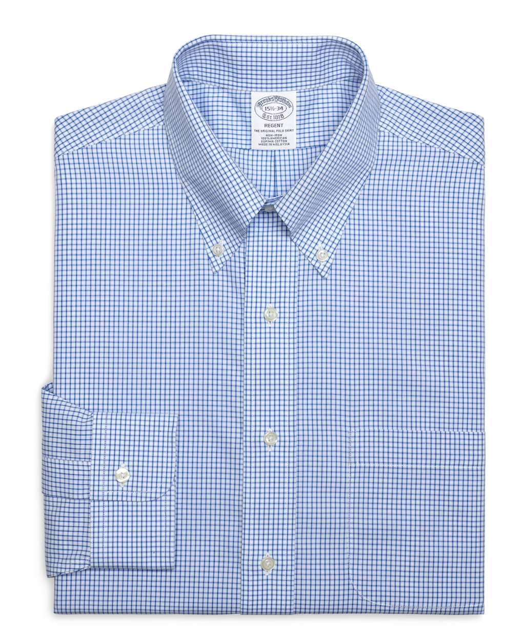 Brooks brothers non iron traditional fit small frame for Brooks brothers non iron shirts review