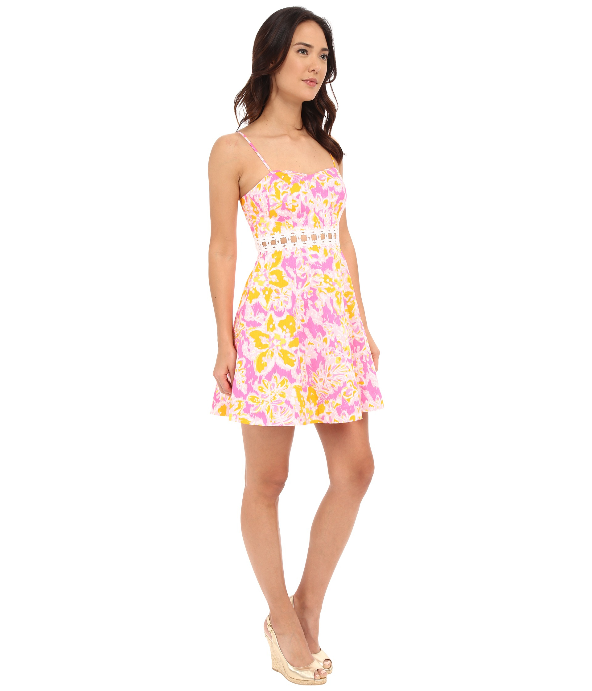 Lyst Lilly Pulitzer Lenore Dress In Black