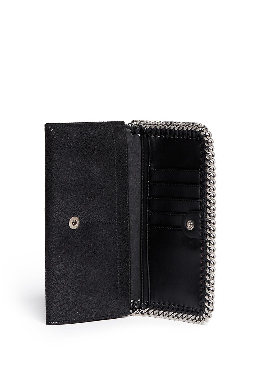 Falabella continental flap wallet Stella McCartney gN0I3Rj