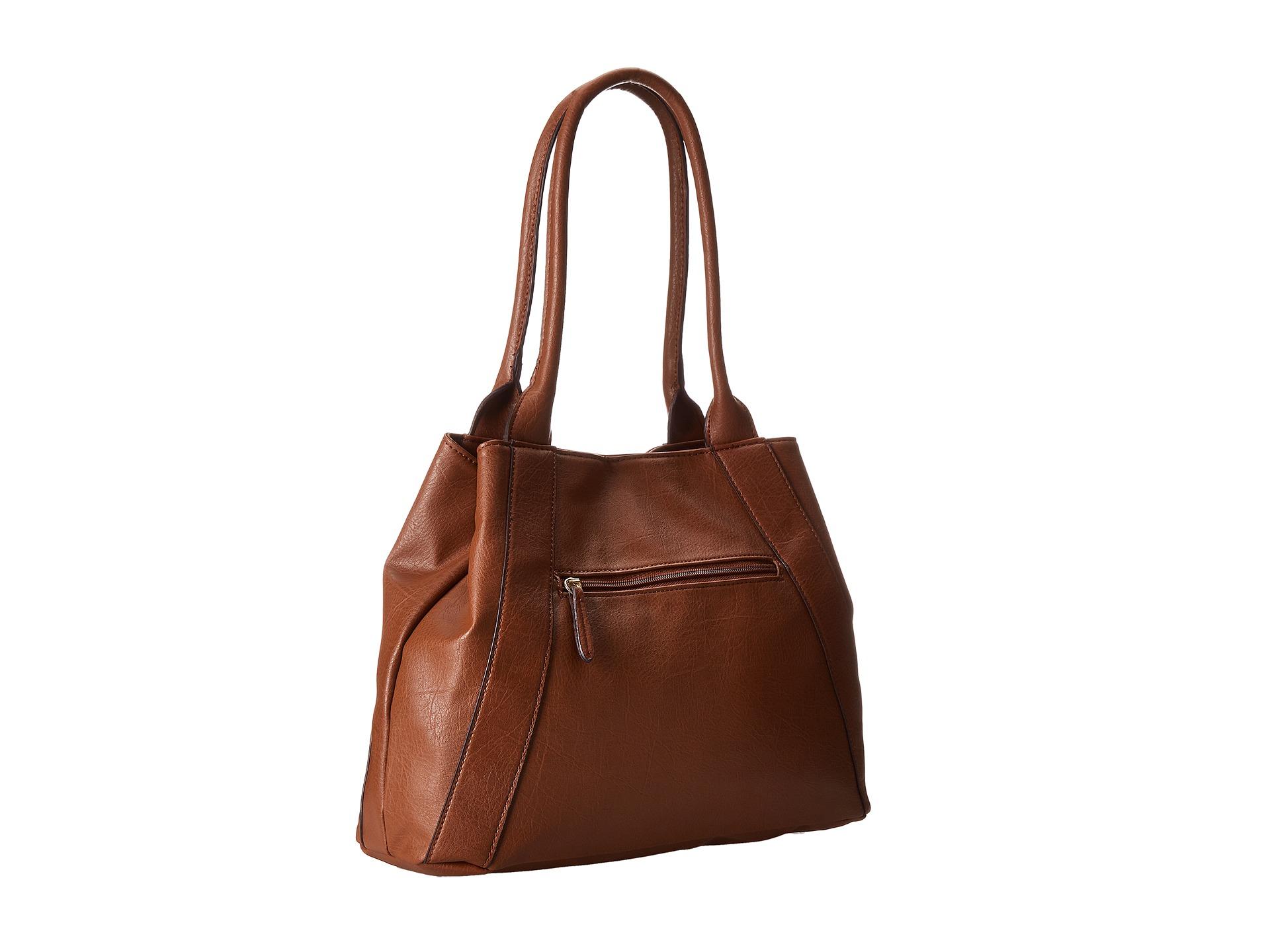 Franco Sarto Brown Leather Purse Best Image Ccdbb