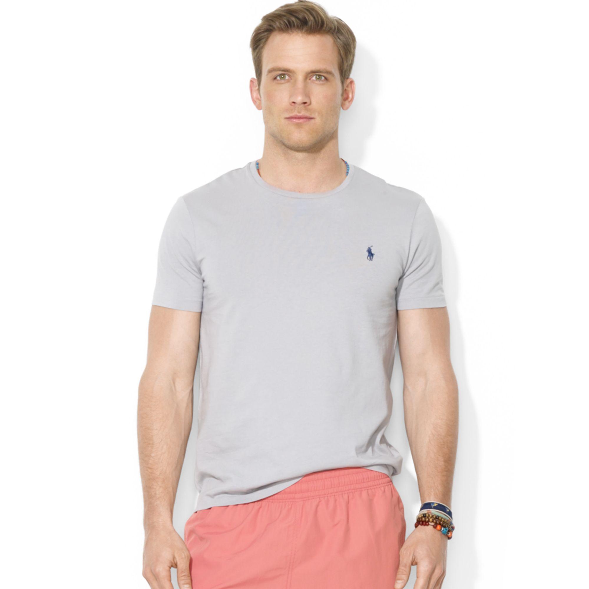 NWT Polo Ralph Lauren Men/'s Jersey Crew Neck Tee T-Shirt