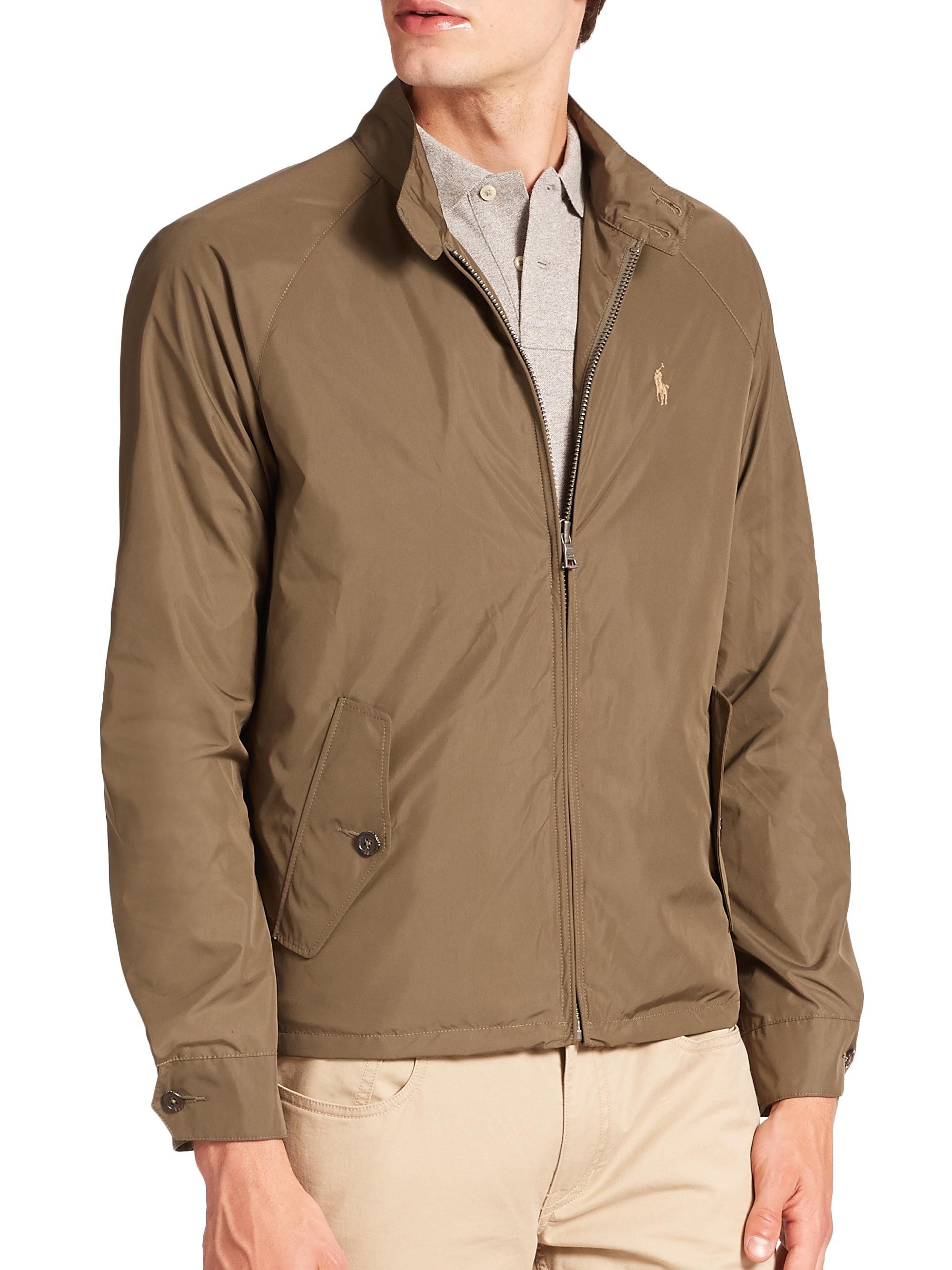 5d4ea0bfdfa0c6 Lyst - Polo Ralph Lauren Packable Barracuda Jacket in Green for Men