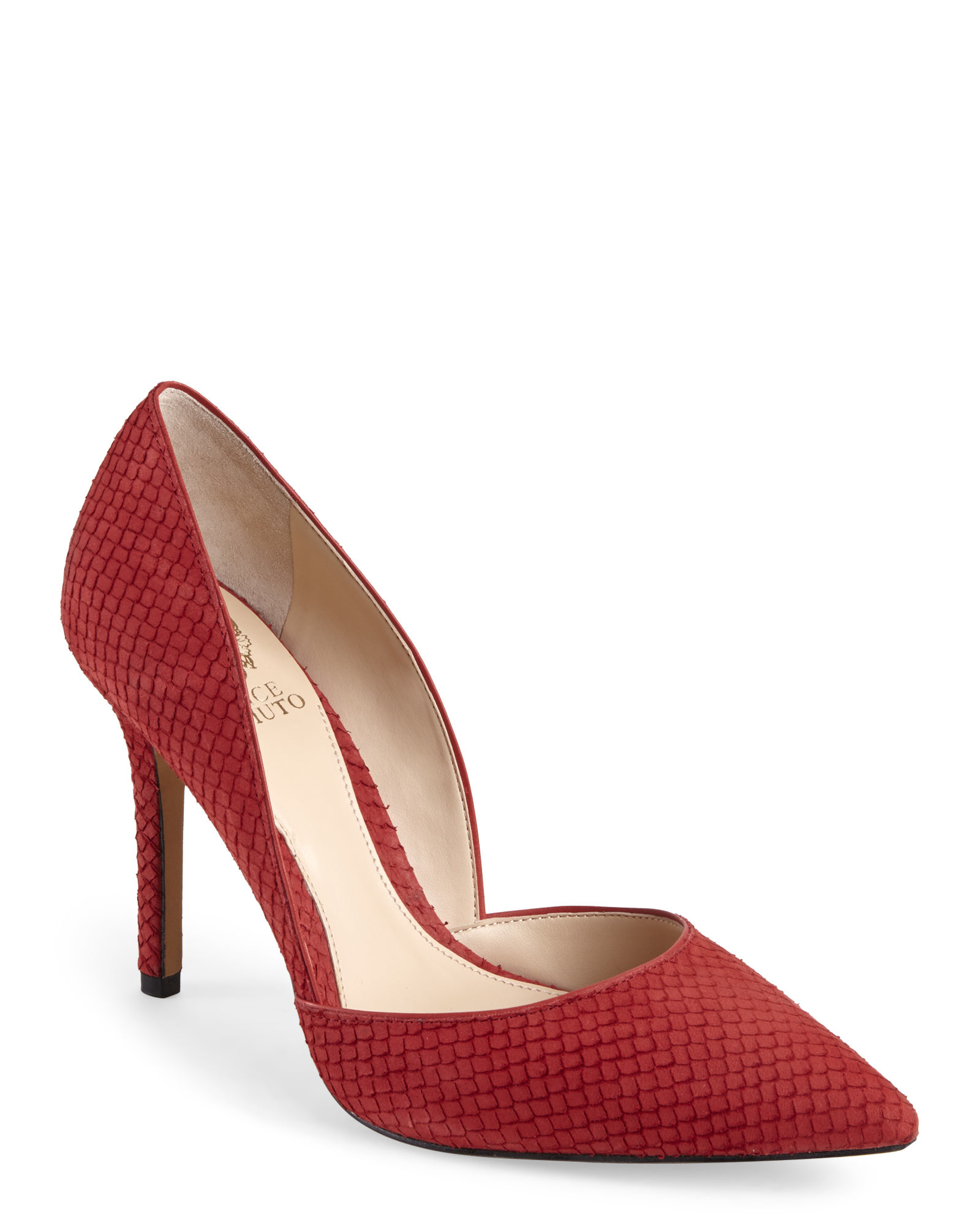 087cd3efe681 Lyst - Vince Camuto Red Rowin Pumps in Red