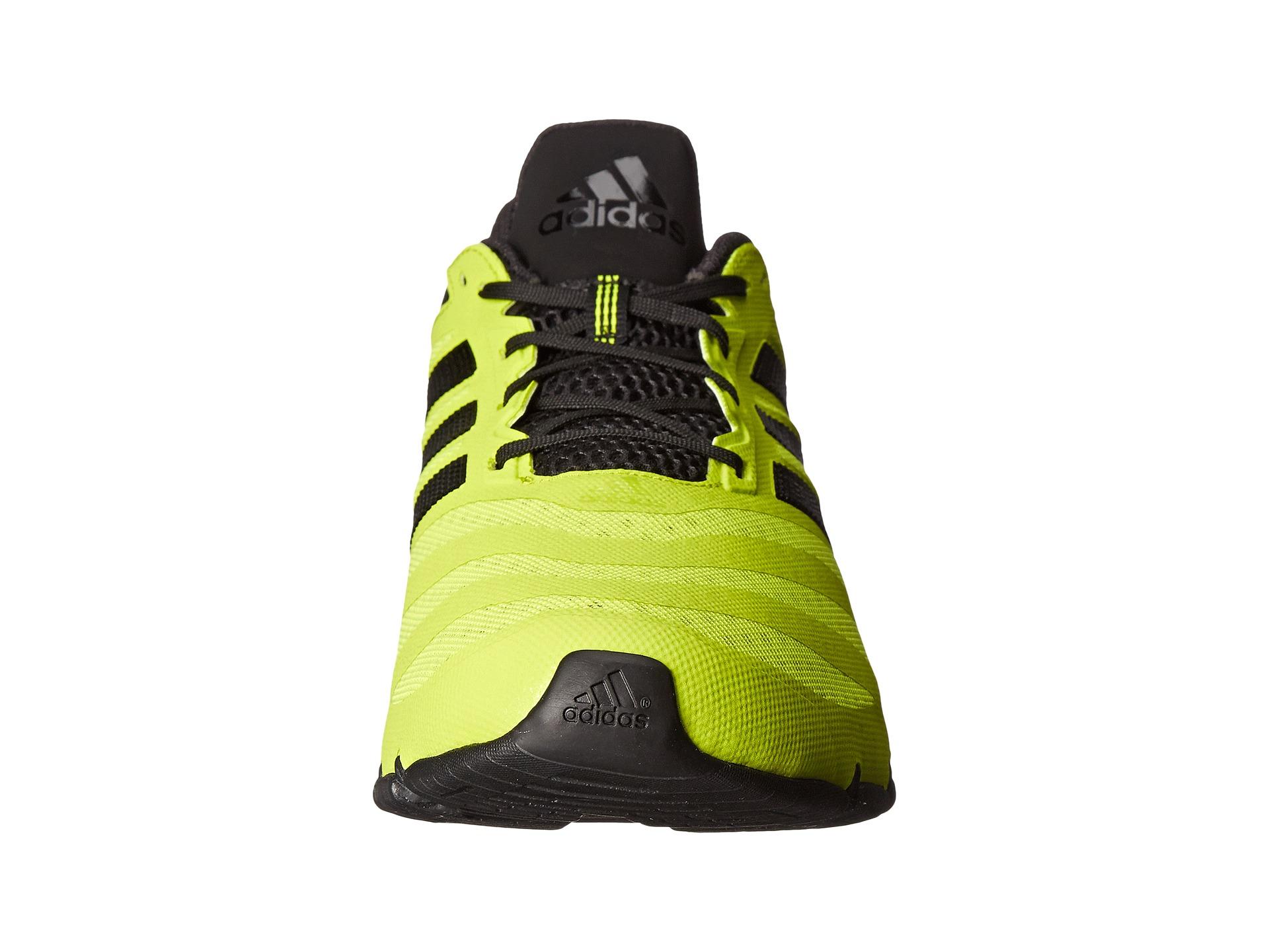 Adidas springblade solyce negro amarillo zapatos liquidación