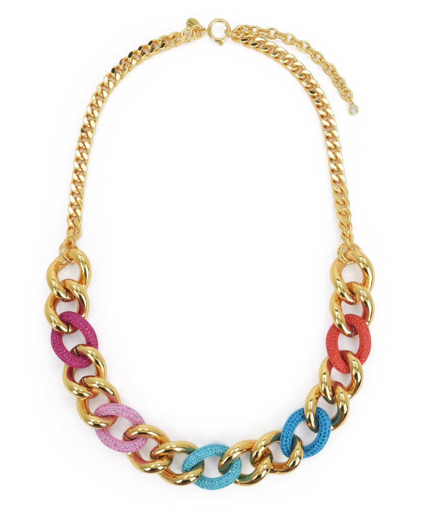 Juicy couture color me in couture chain necklace in for Juicy couture jewelry necklace