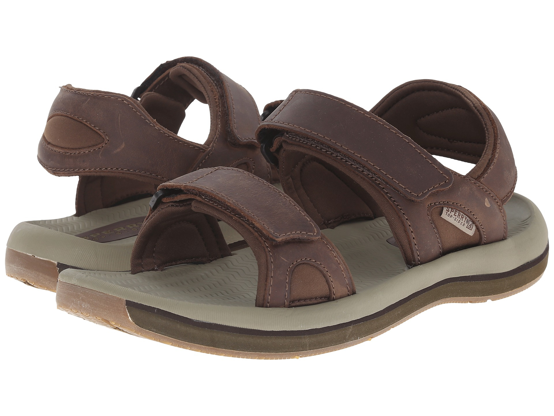 cd44a256c6b9 Lyst - Sperry Top-Sider Santa Cruz 2 Strap in Brown for Men