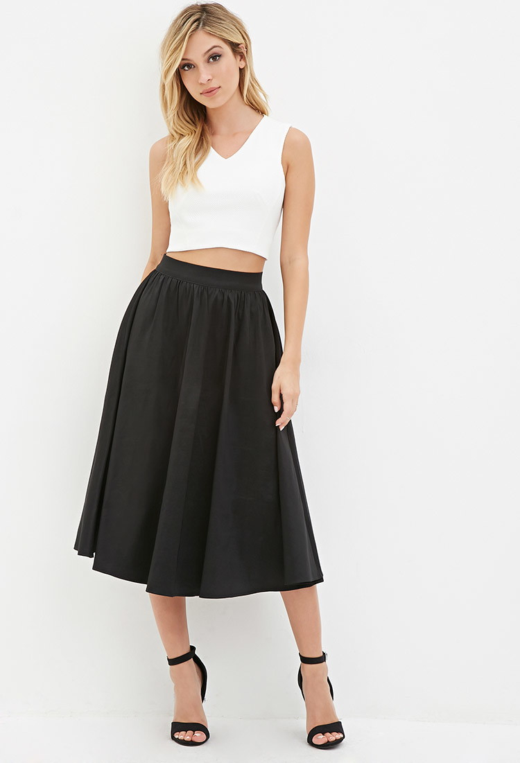 Innovative Corduroy ALine Skirt