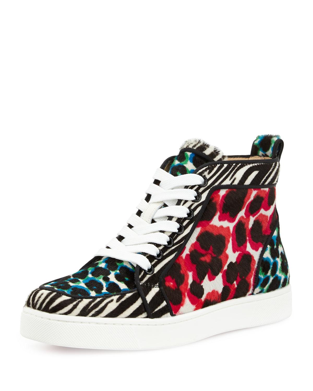 louboutin Sneakers Multicolore