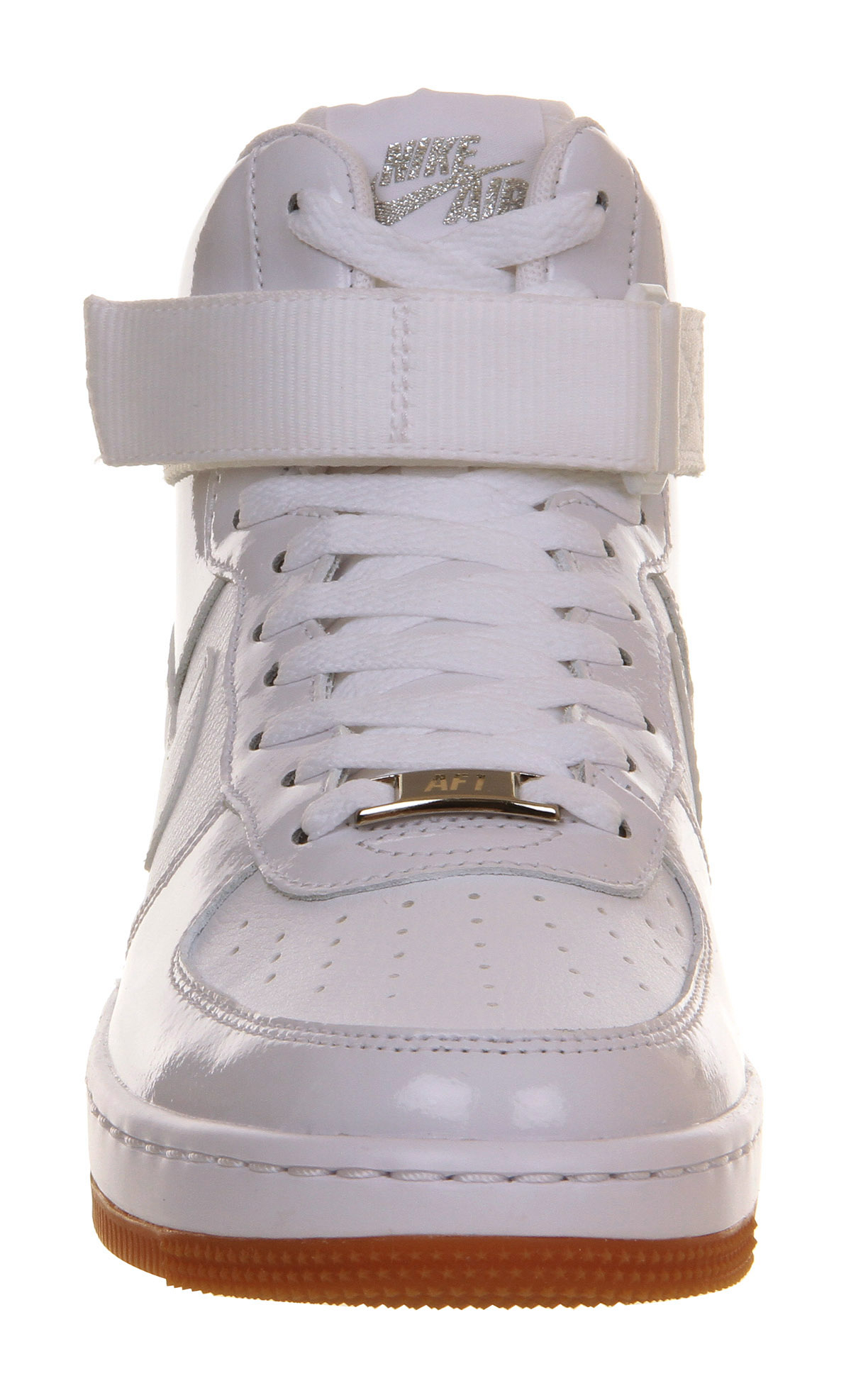 new arrival 40ee0 4669d Nike Air Force 1 Airness Mid in White - Lyst