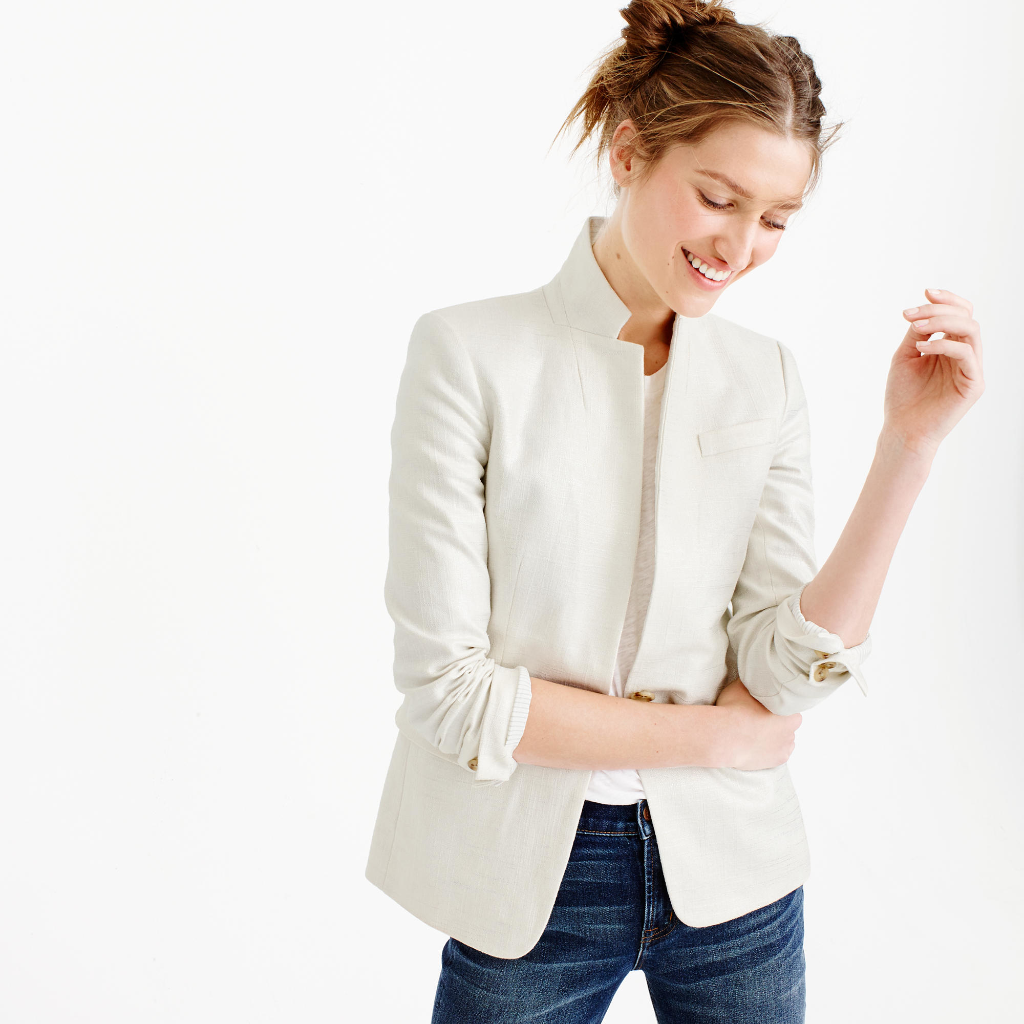 MISSY Linen Clothing - Shop our selection of jacket at Vivid Linen. Let's Enjoy Today.