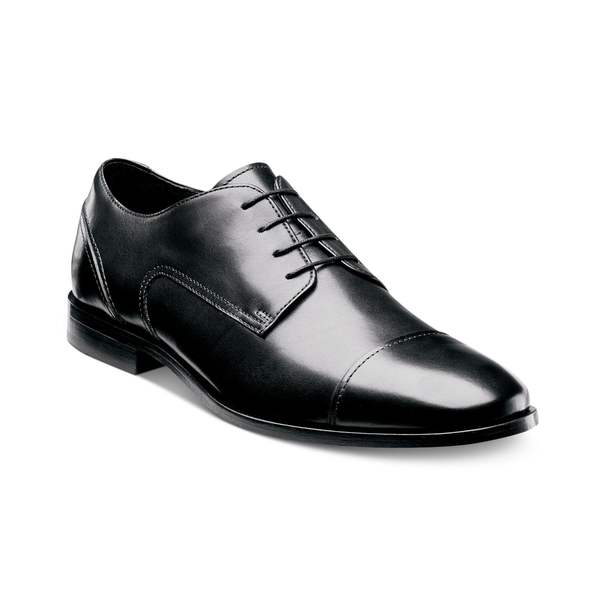 Florsheim Jet Cap Toe Lace Up Shoes