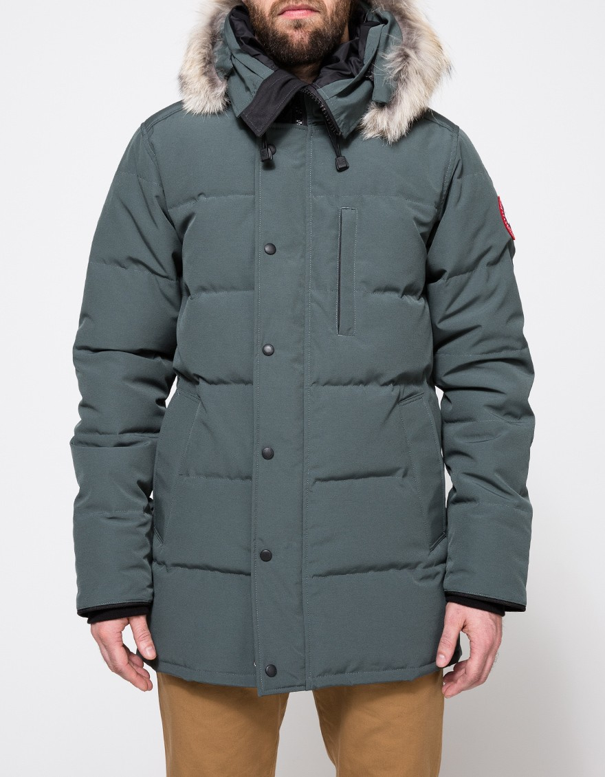 d9725c50280c ... italy lyst canada goose carson parka in slate in gray for men 10787  d0475