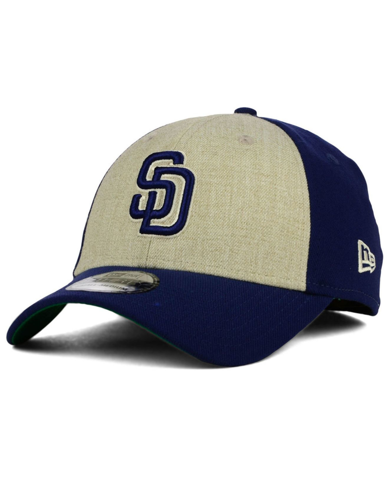 online store f88fd 237e3 KTZ San Diego Padres Classic Front 39thirty Cap in White for Men - Lyst