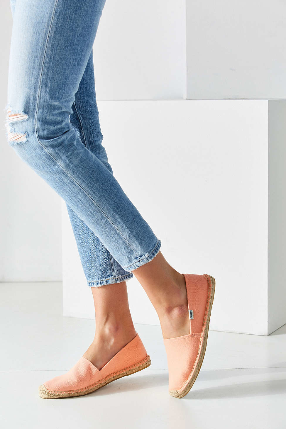 51622ca1ac0 Lyst - Soludos Dali Espadrille Slip-on Shoe in Pink