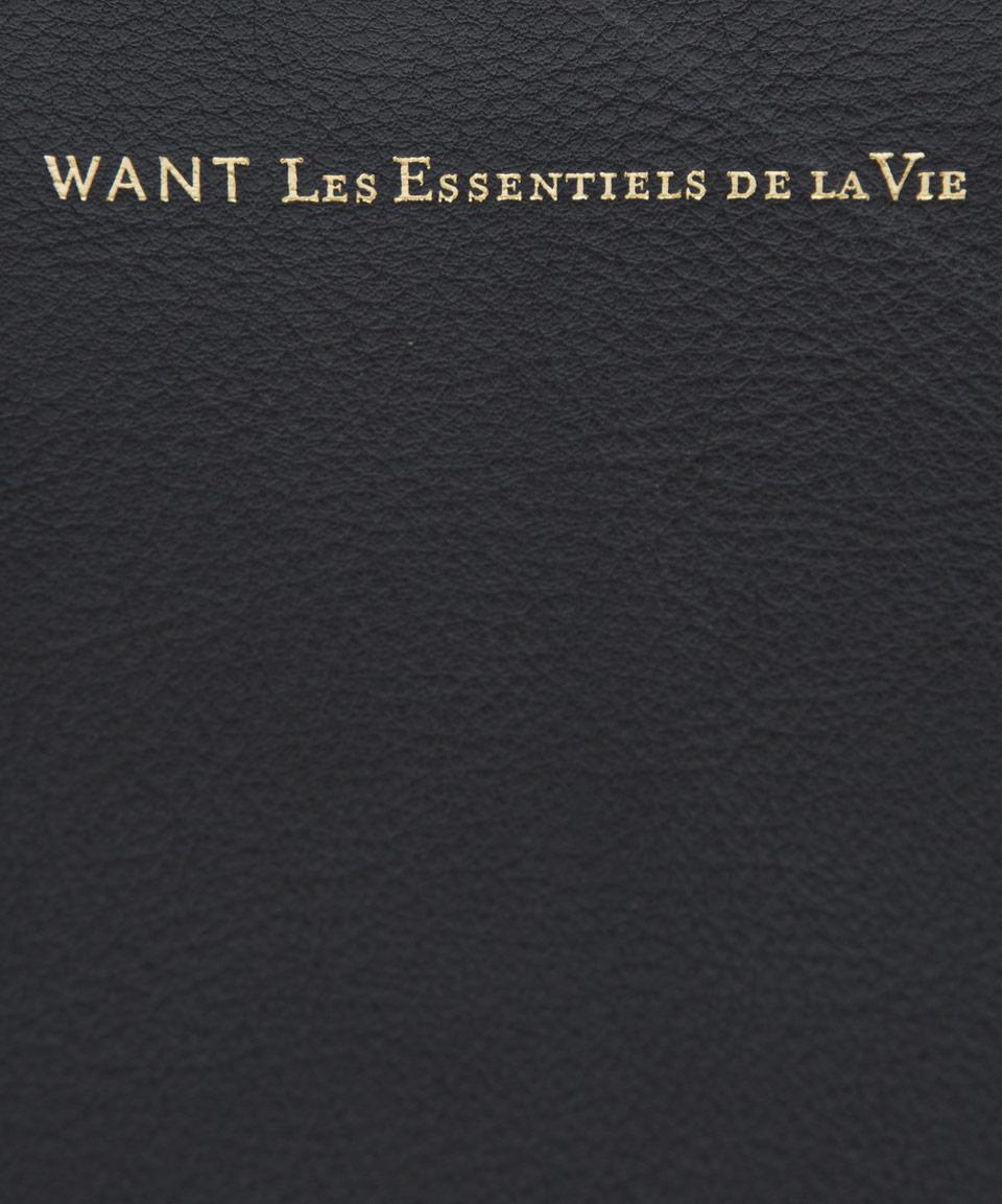 Want Les Essentiels De La Vie Black Barajas Leather Folio