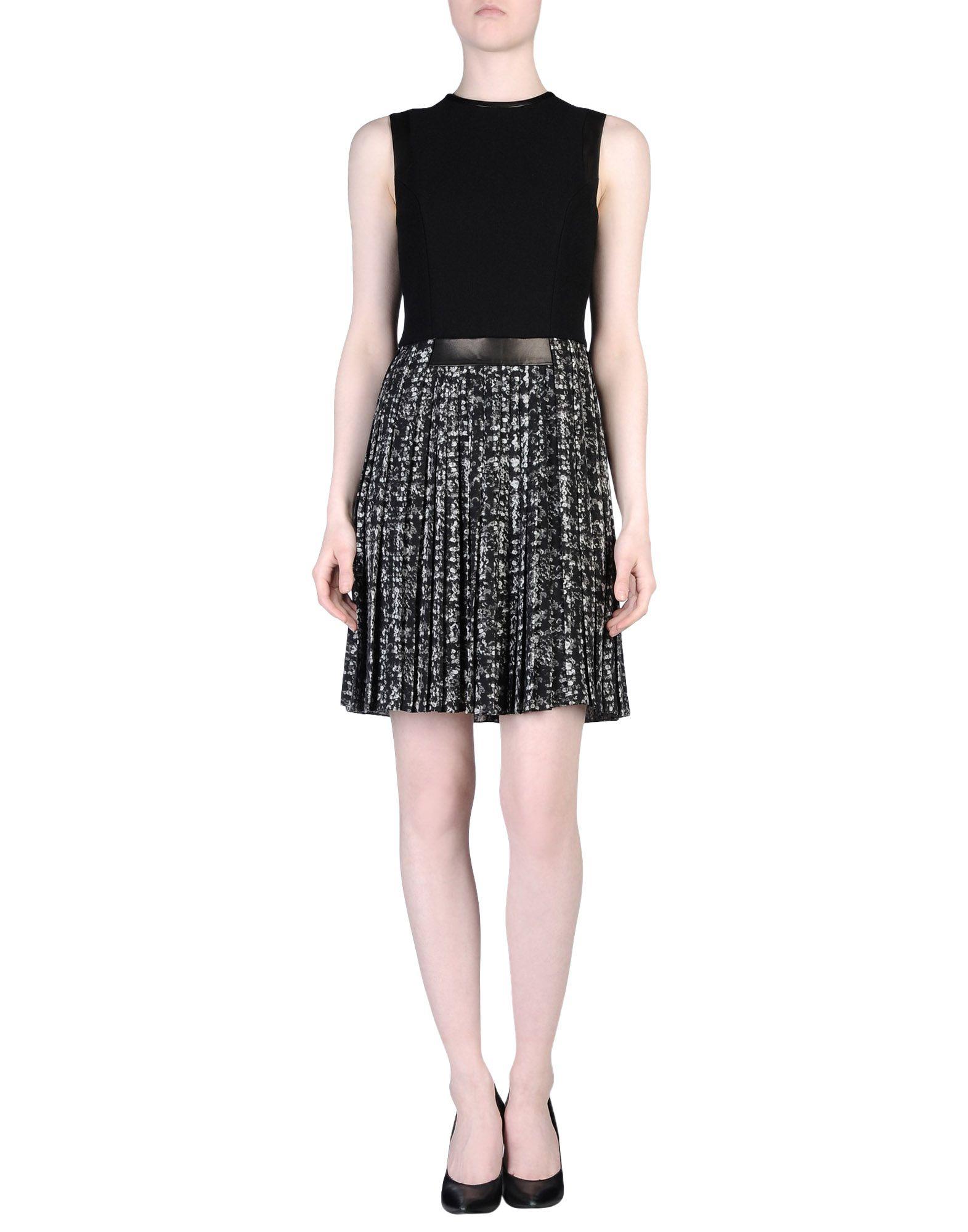 Beautiful Michael Kors Draped Front Womenu0026#39;s Dress Black