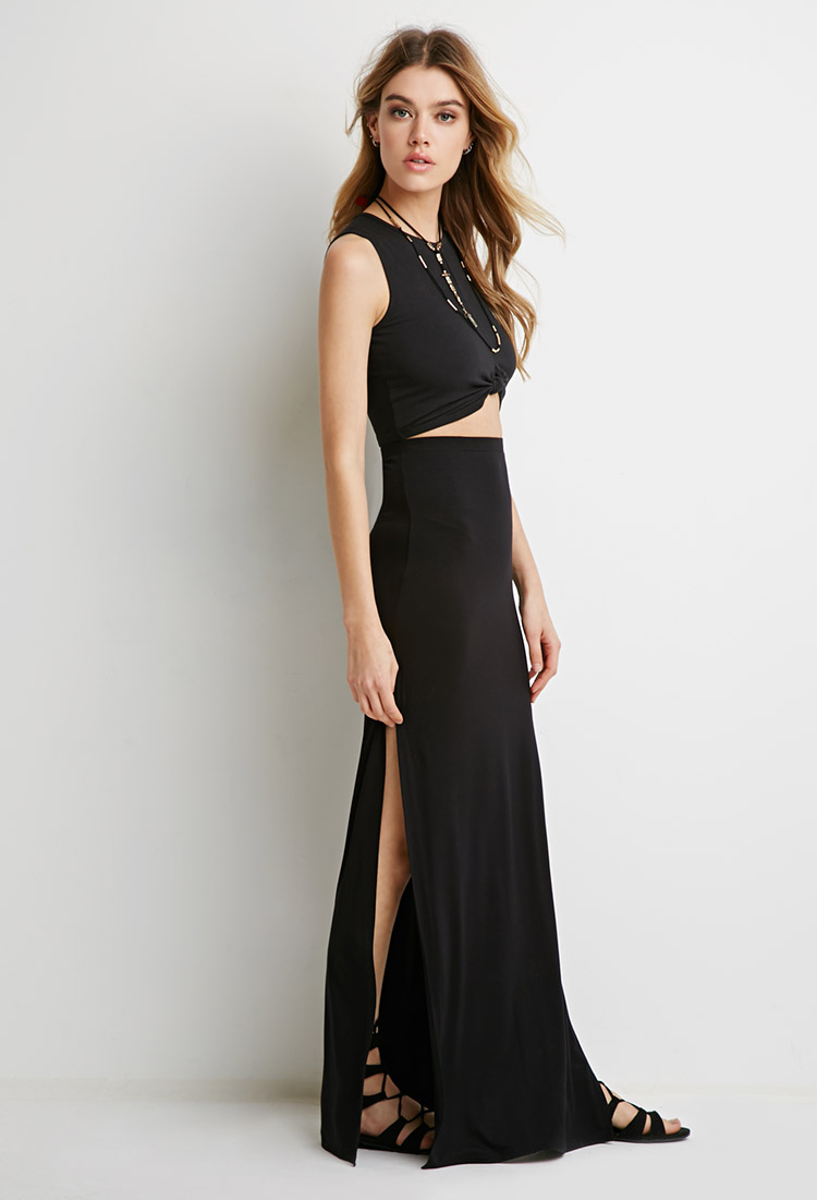 Images of Long Skirts With Slits - Watch Out, There's a Clothes About