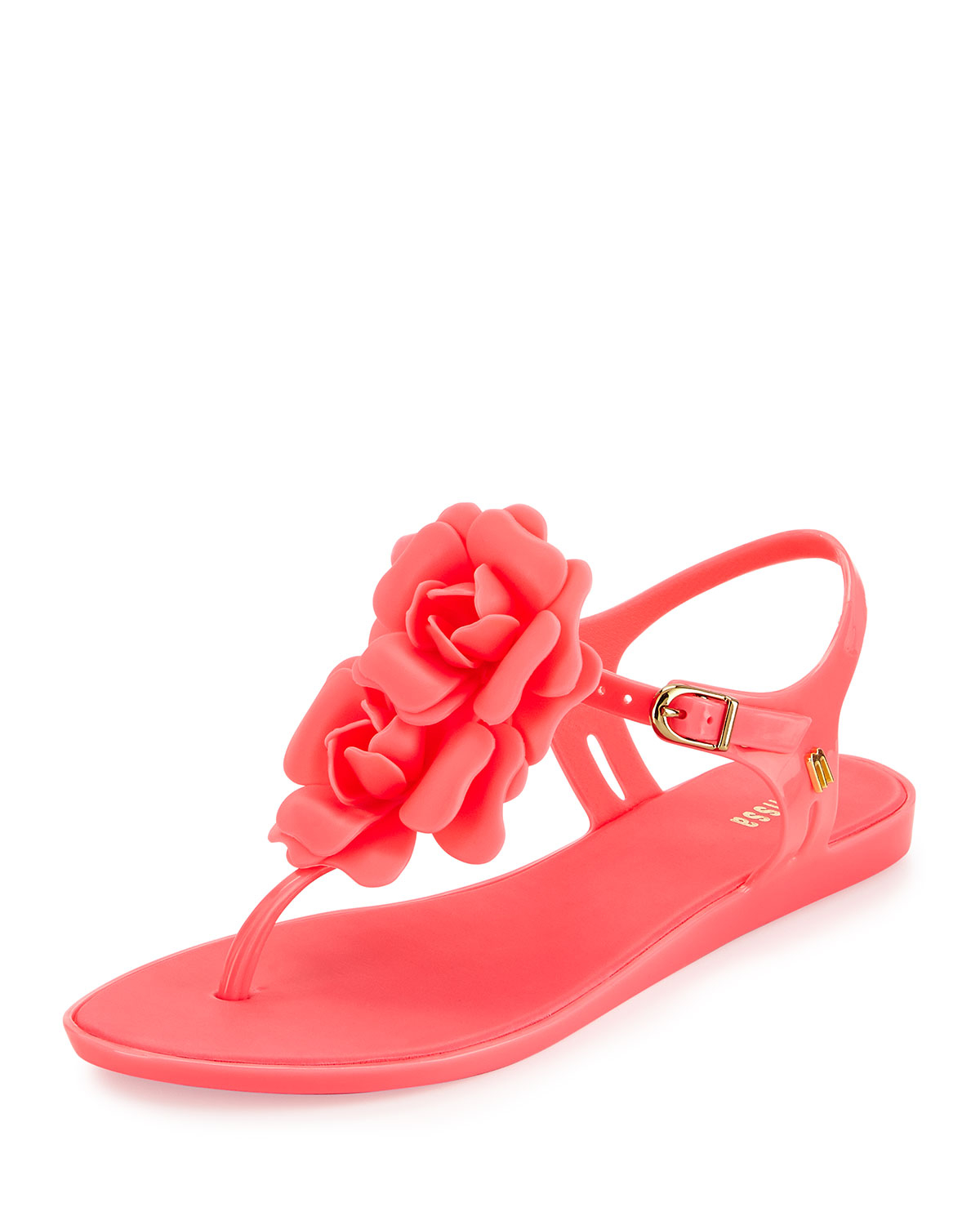 6c5b8a8647ae26 ... Lyst - Melissa Solar Garden Thong Sandal in Pink best shoes 62257 7a198  ...