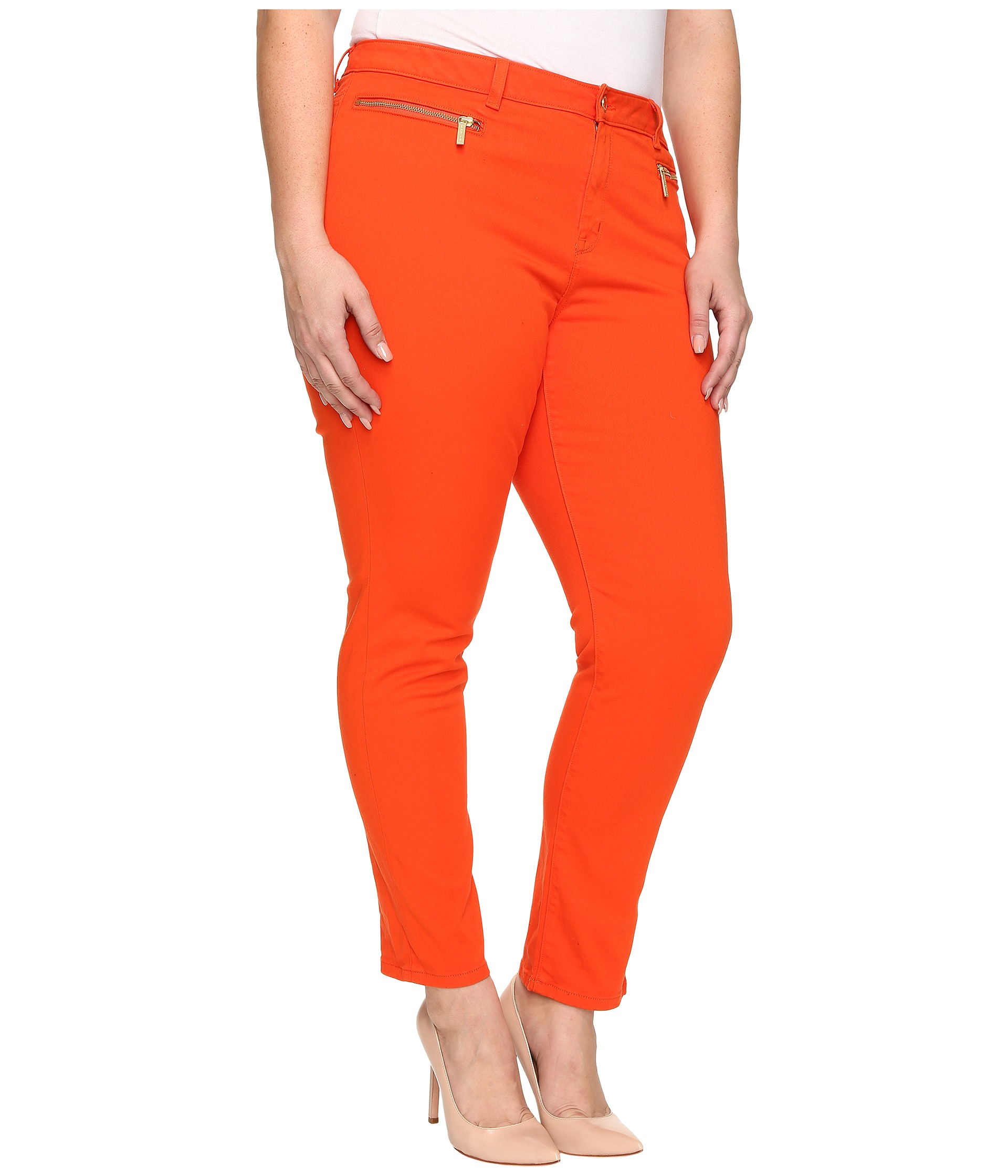 90d6edbe69e21 Orange Skinny Pants - Collections Pants Photo Parkerforsenate.Org