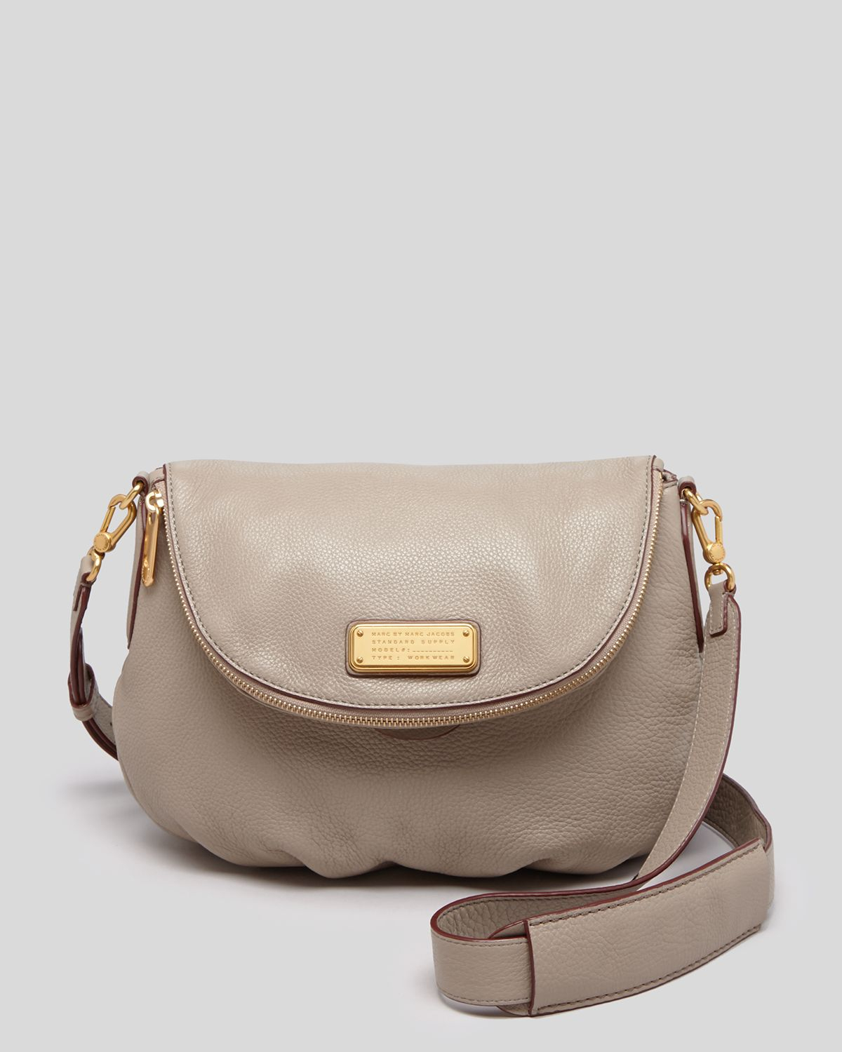 16c0cccd4e9 Marc By Marc Jacobs Crossbody - New Q Natasha in Gray - Lyst