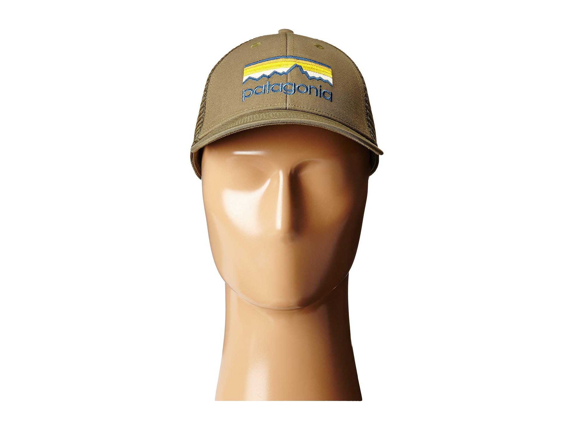 Lyst - Patagonia Line Logo Lopro Trucker Hat in Green 1dfac4bdd89