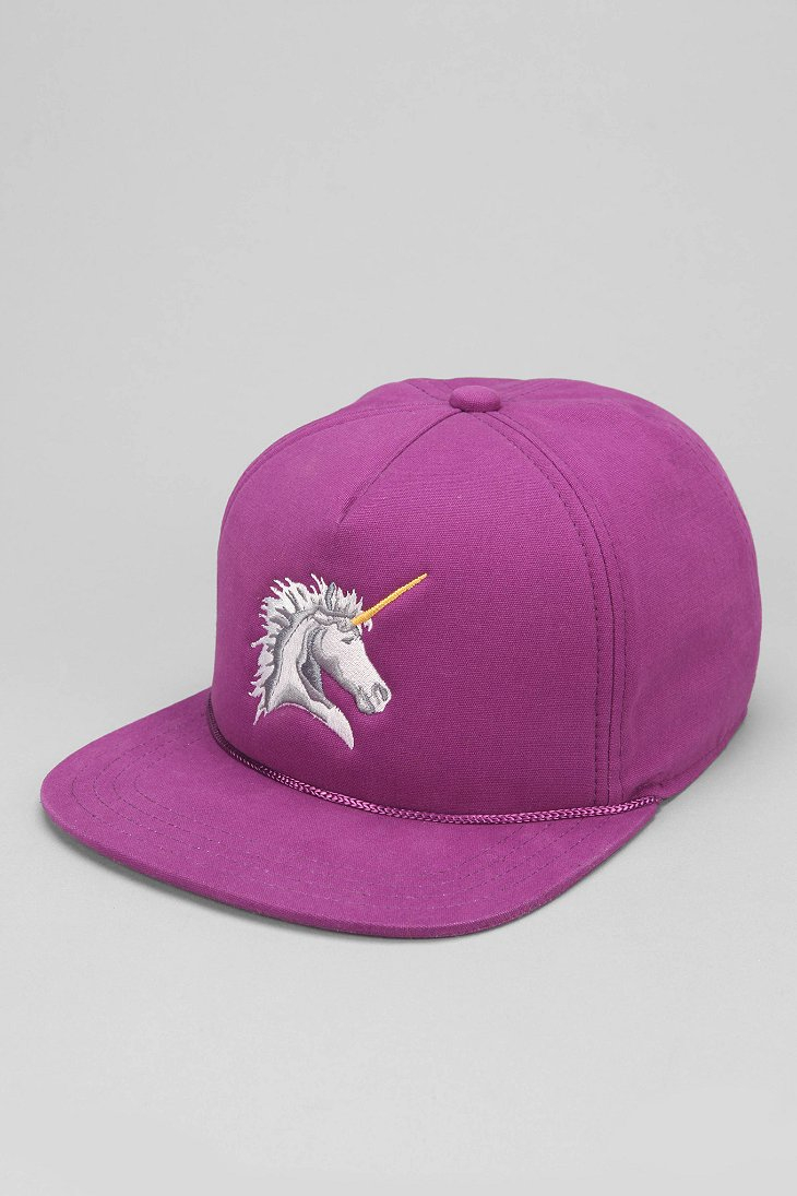 dd8e6917 Urban Outfitters Coal The Lore Unicorn Snapback Hat in Purple for ...
