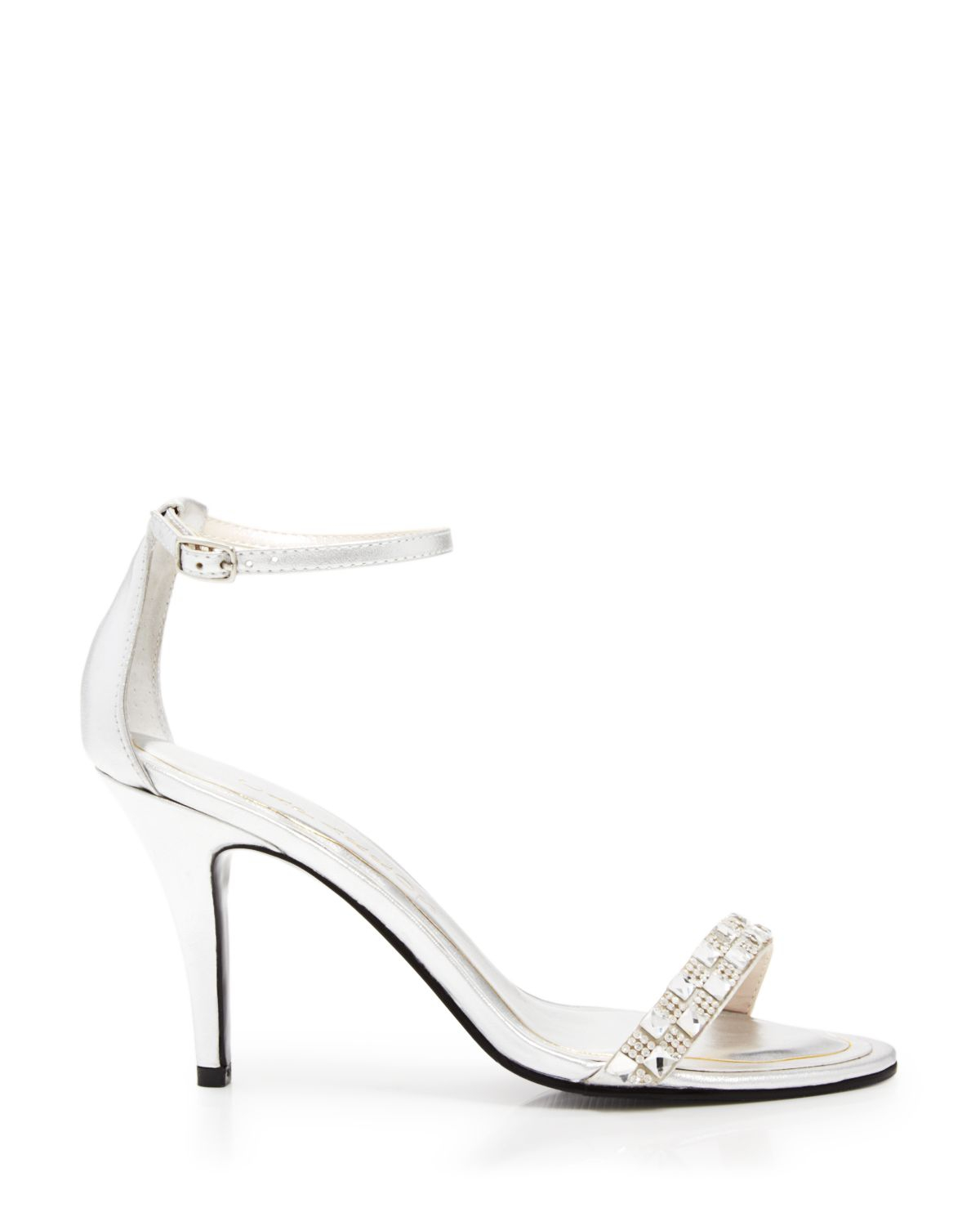 Lyst - Caparros Open Toe Evening Sandals - Sequoia High Heel in ...