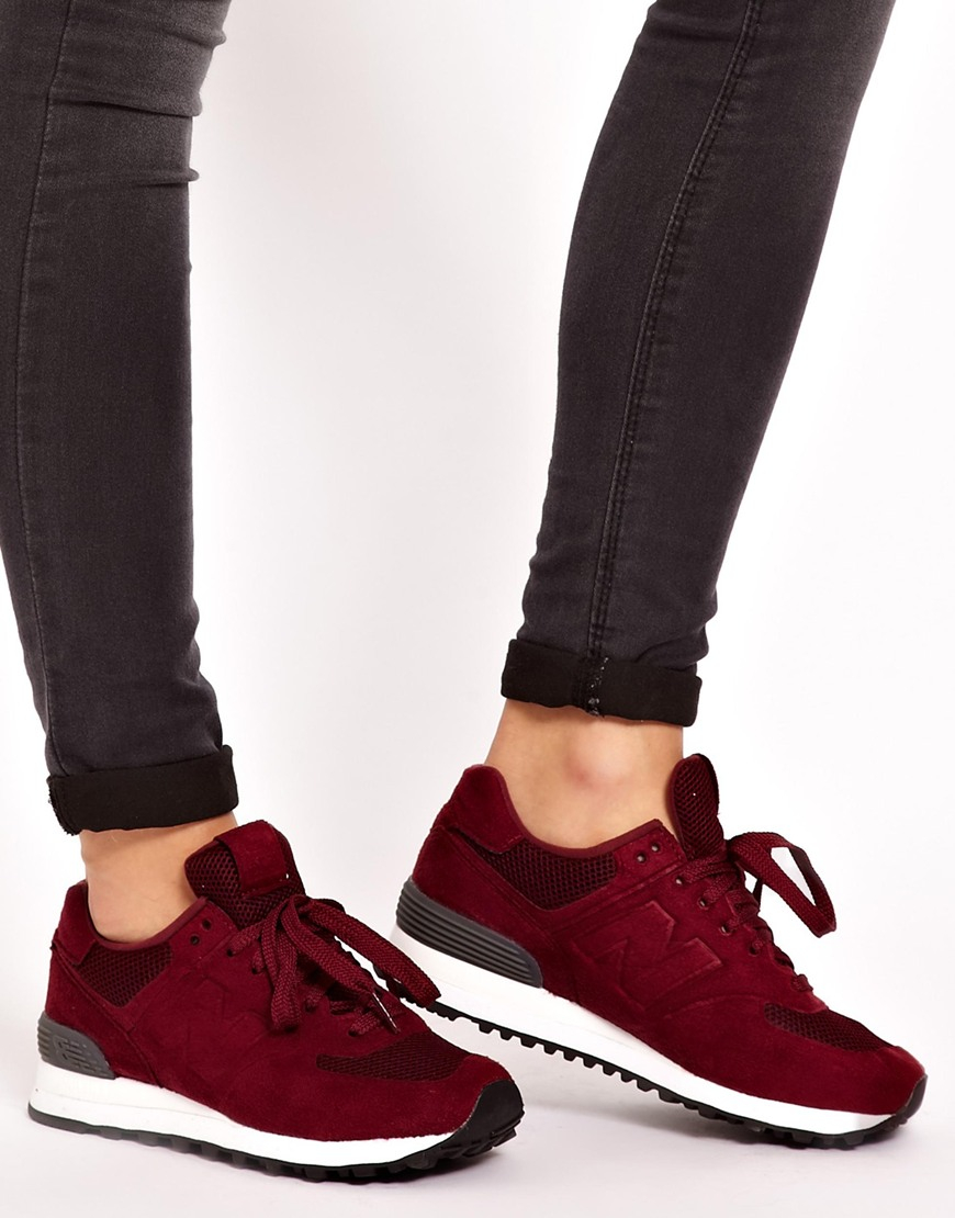 410 trainers burgundy new balance women
