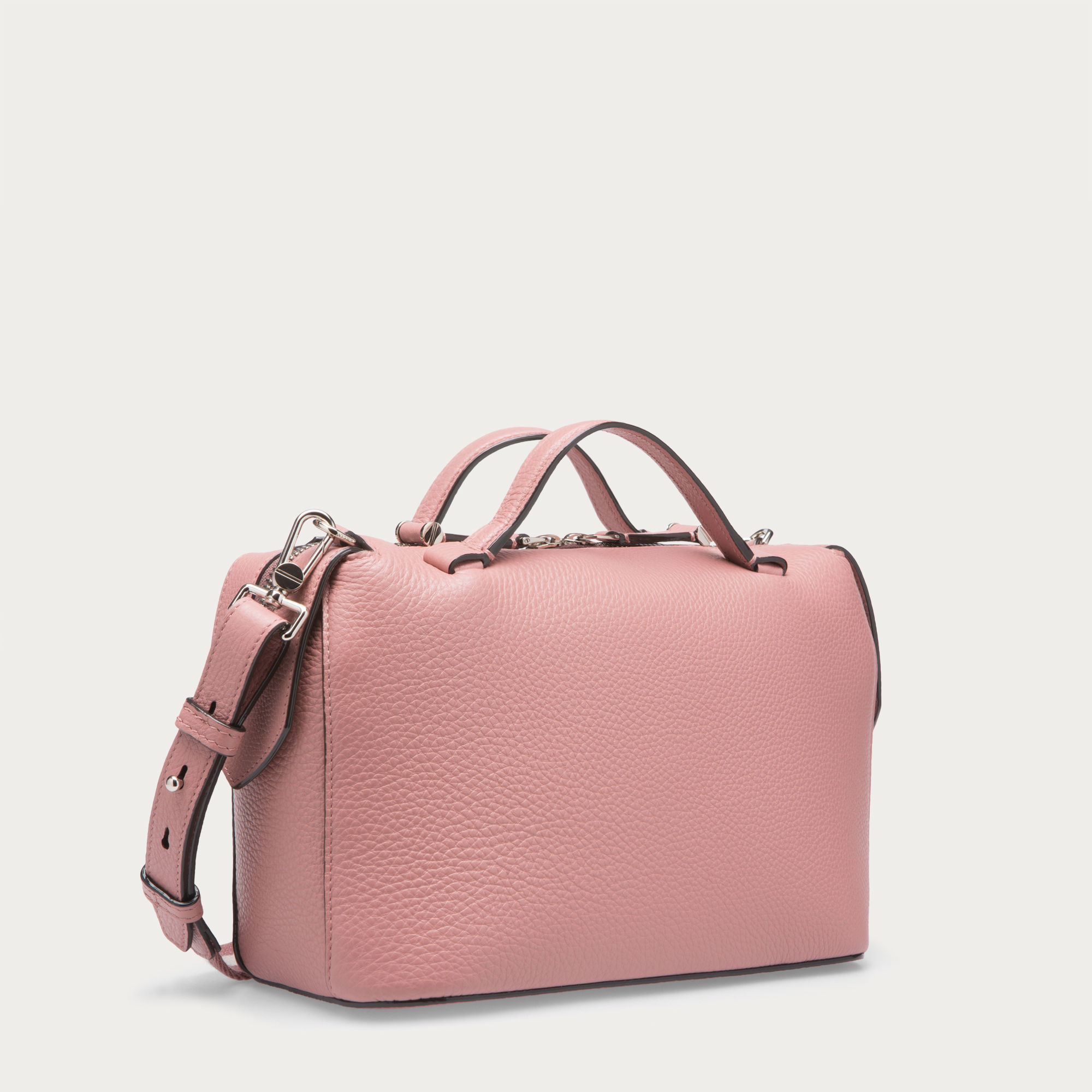 lyst bally kissen small women 39 s leather shoulder bag in rosehaze in pink for men. Black Bedroom Furniture Sets. Home Design Ideas