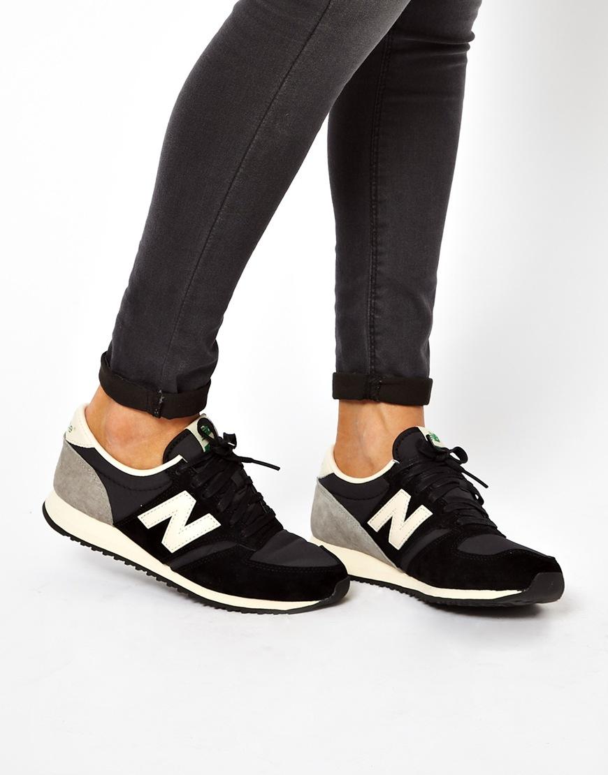new balance woman 420 sneaker black