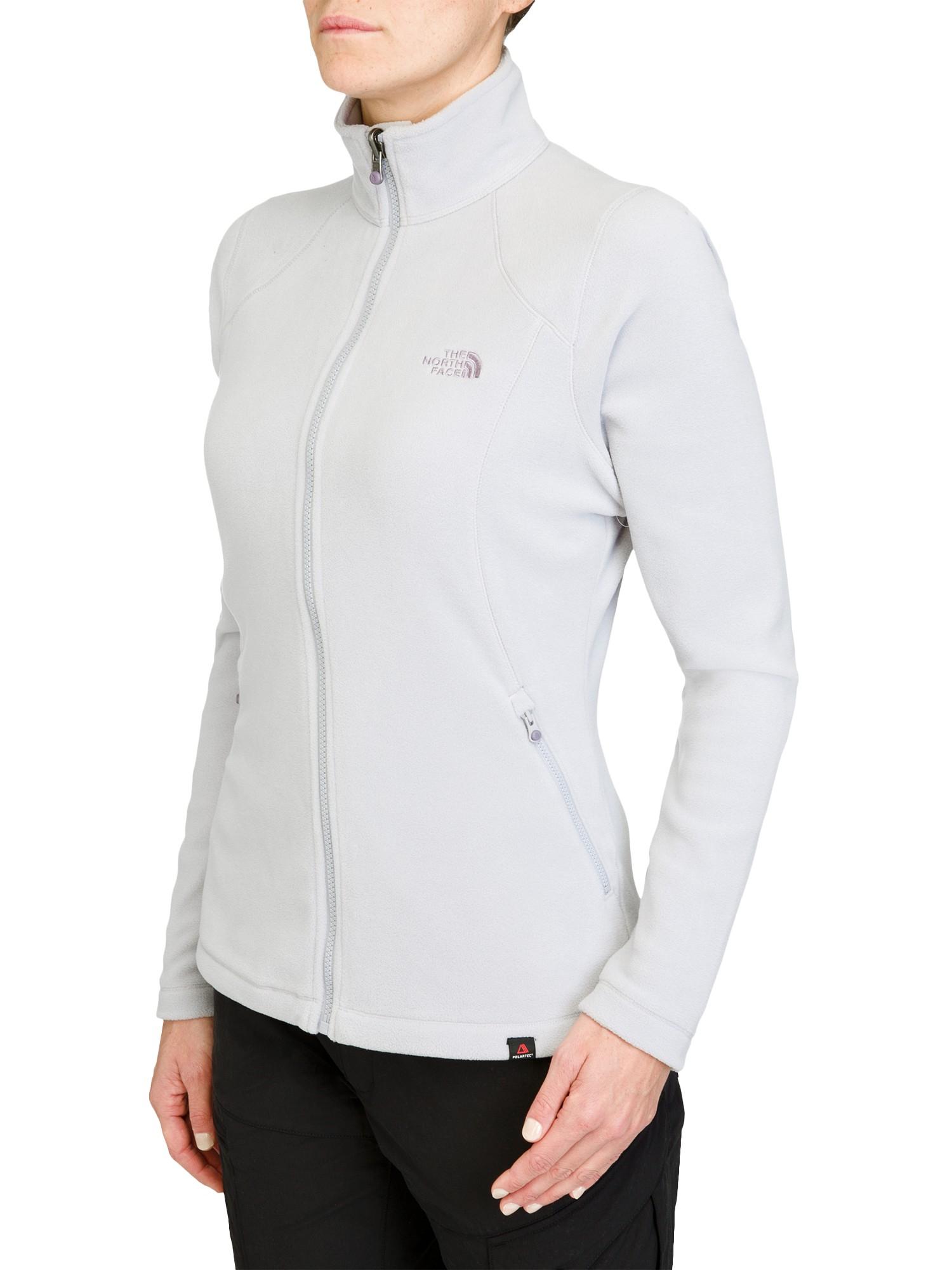 0f6f39372c7 The North Face Women S 100 Glacier Full Zip Fleece Jacket in Gray - Lyst