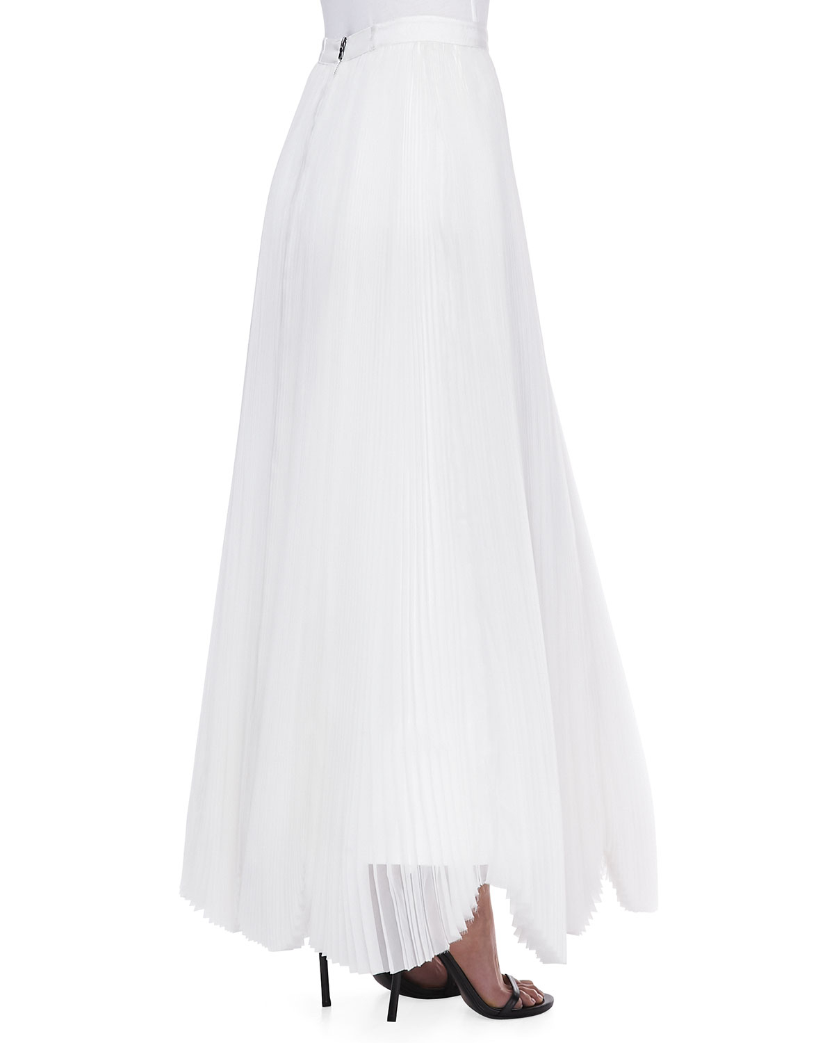 Alice   olivia Bethie Long Pleated Maxi Skirt Alice Olivia in ...