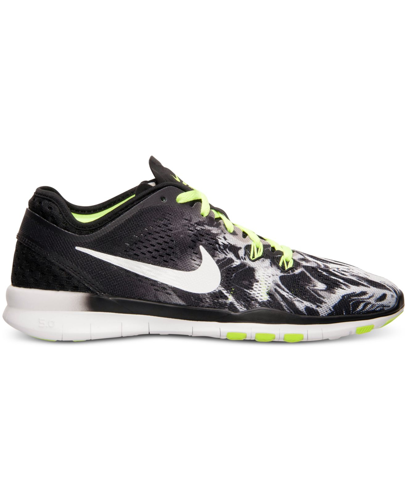 ea8837ea4e31a ... purchase lyst nike womens free 5.0 tr fit 5 print training sneakers  from 75bc0 c5d4e