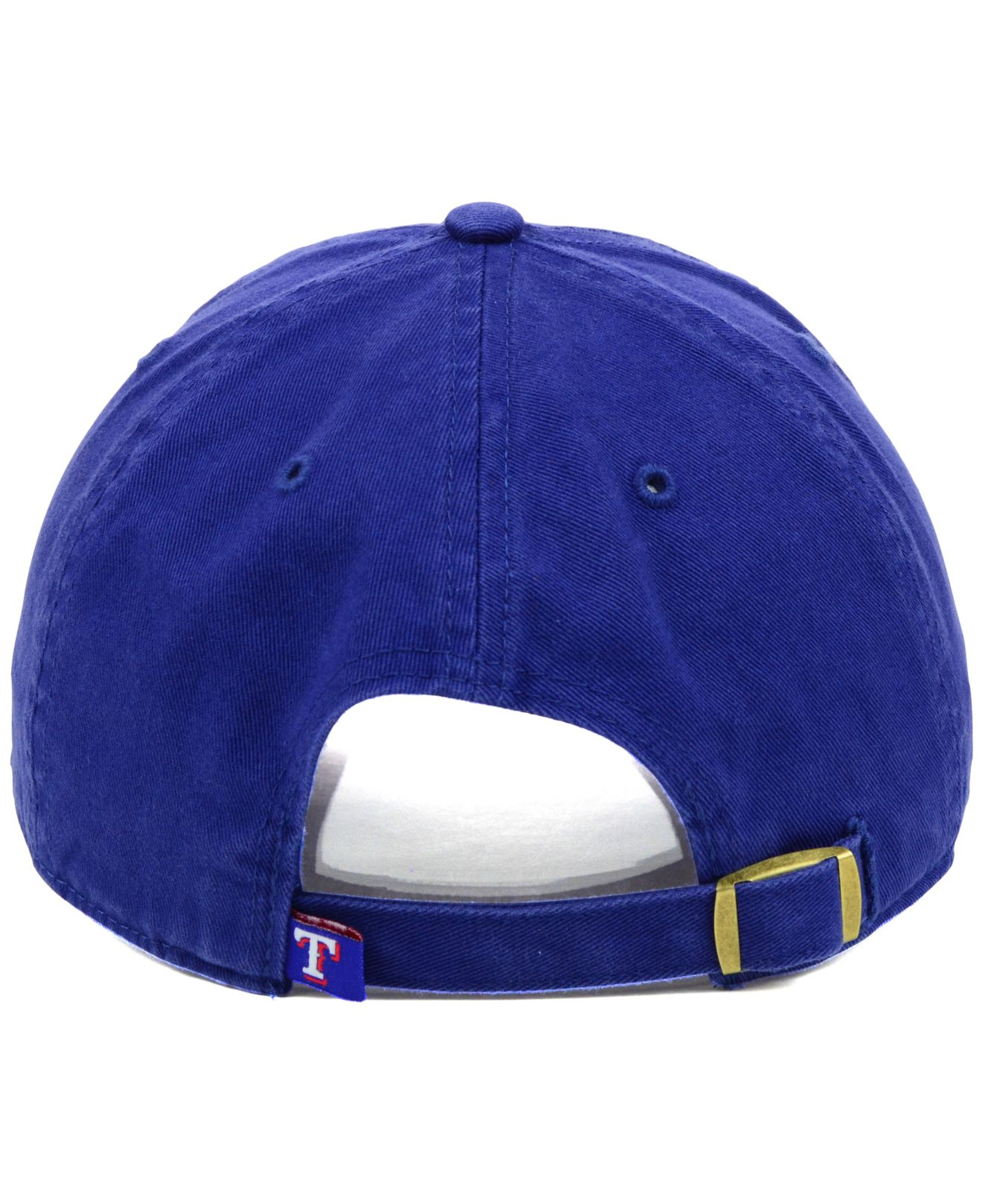 de4ec47e7b8b8 ... lyst 47 brand texas rangers 14 commander cap in blue for men