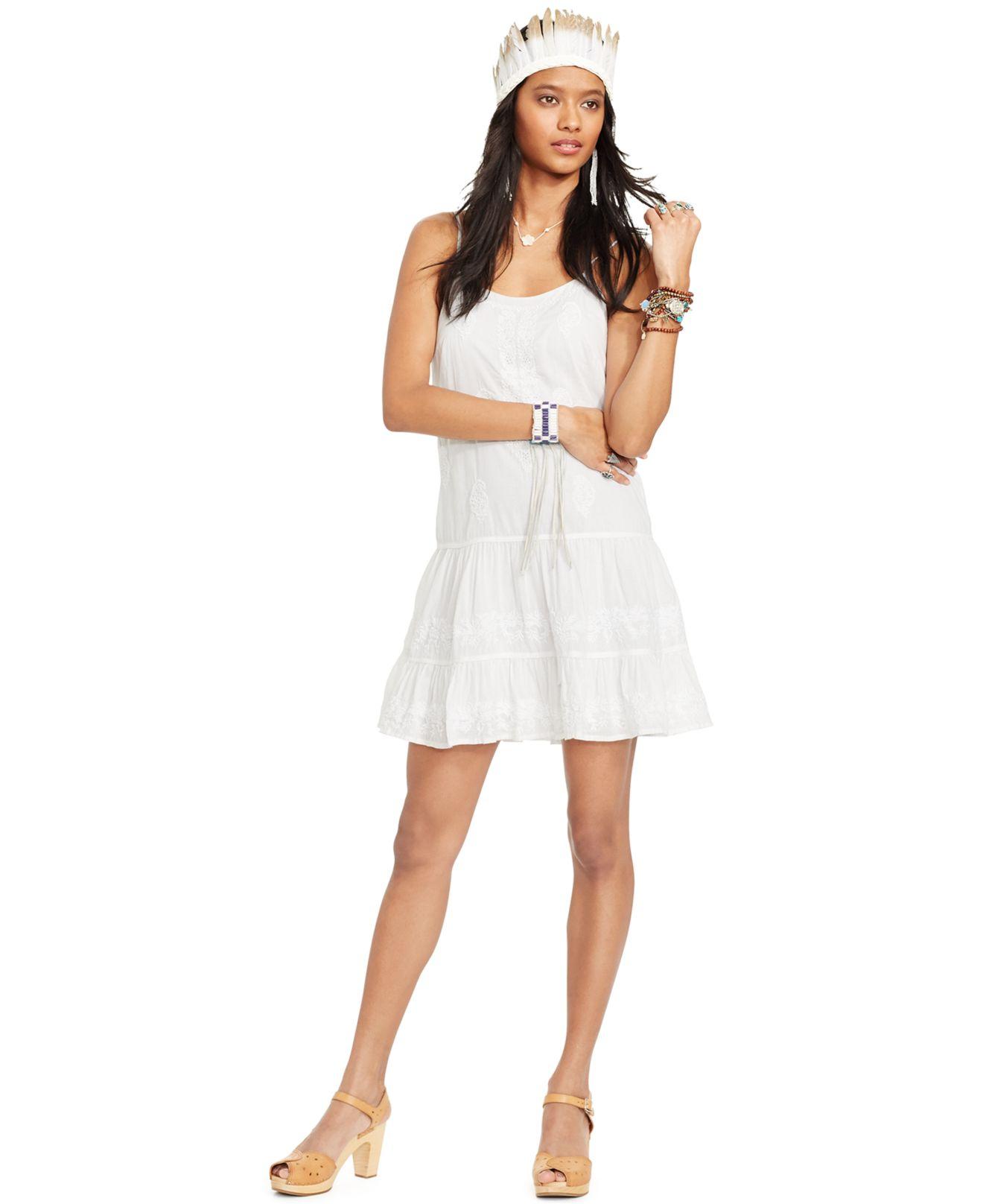 Women Dresses - Ralph Lauren X Wimbledon Polo Dress with Tipping .