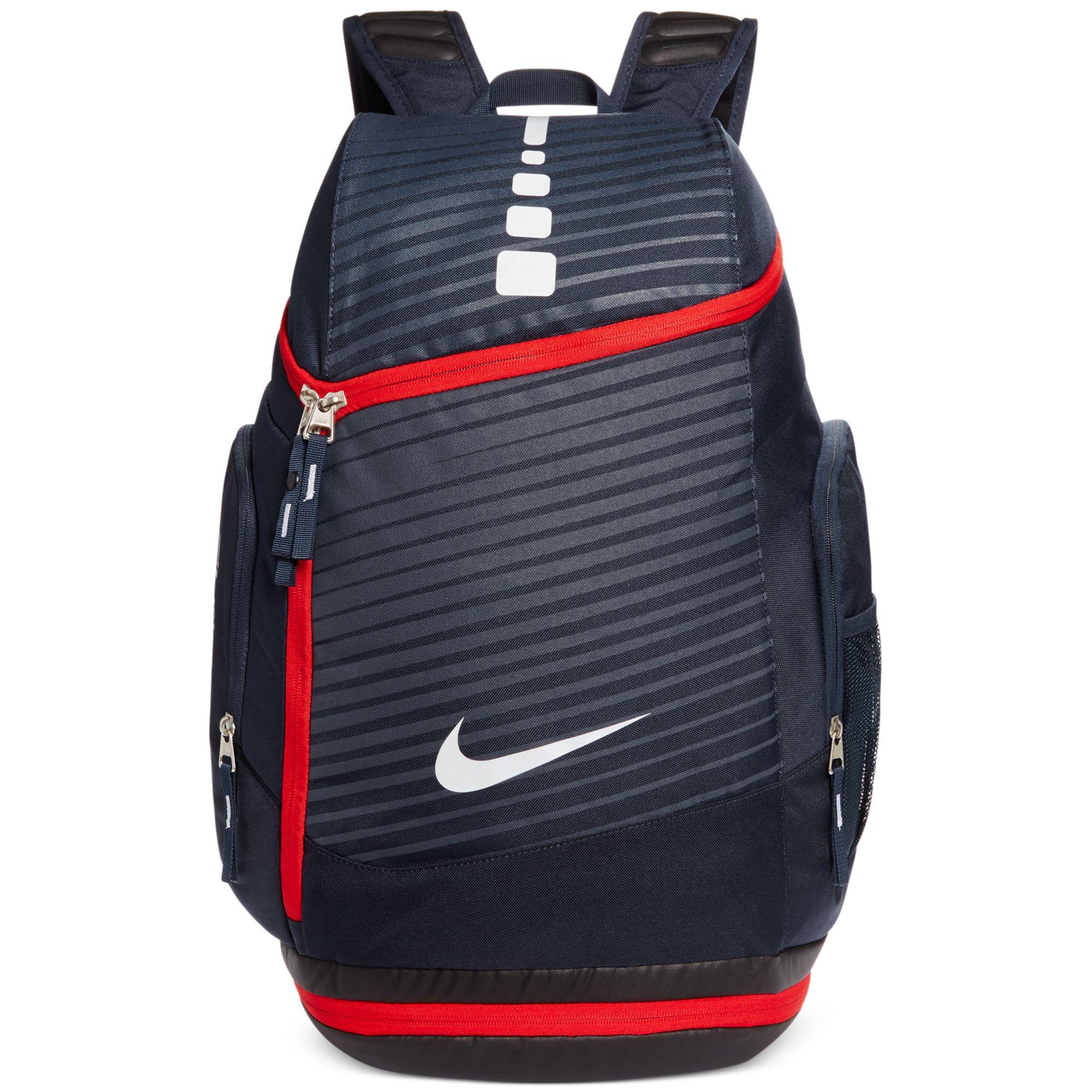 32e5de3d58 Lyst - Nike Hoops Elite Max Printed Backpack in Blue for Men